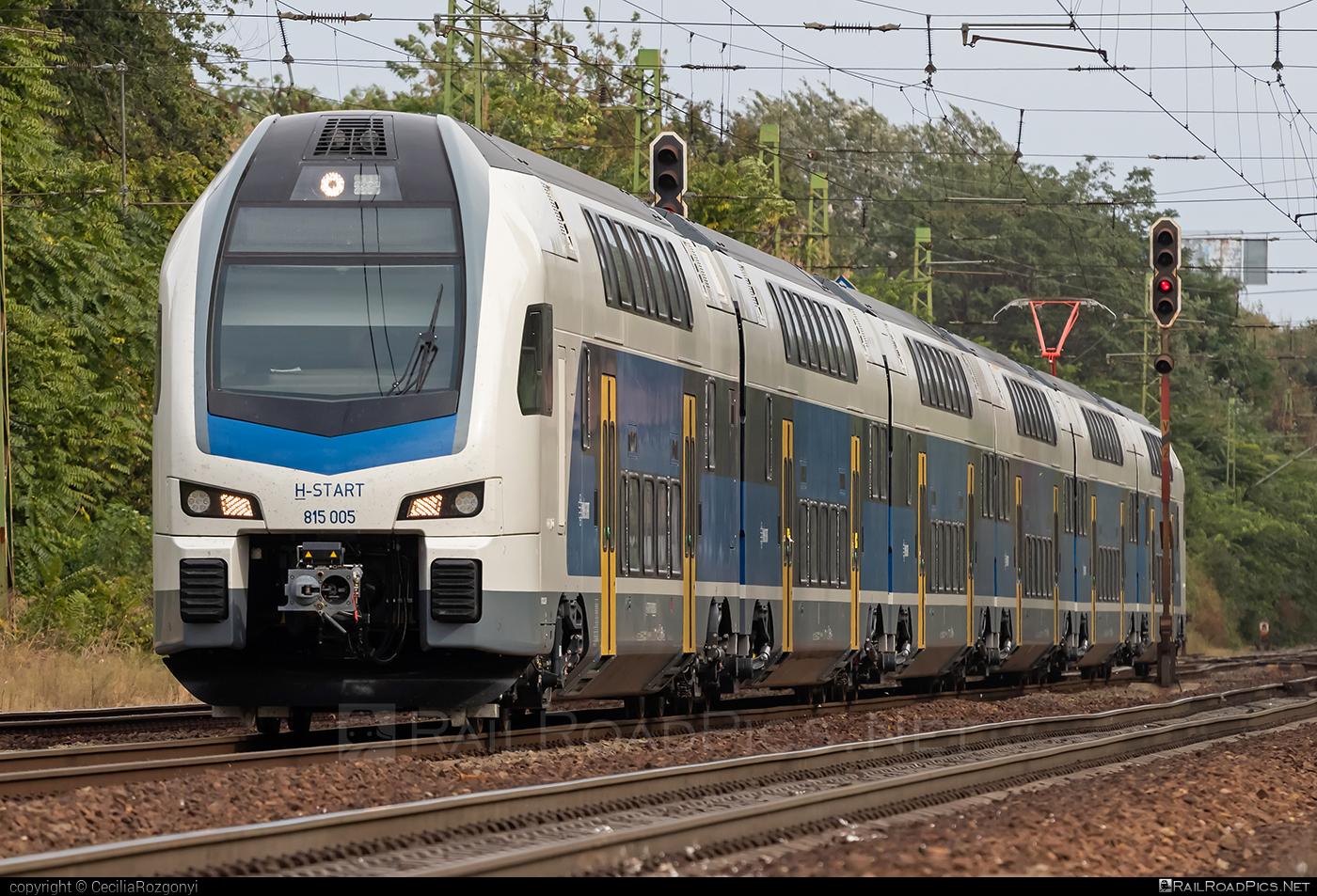 Stadler KISS - 815 005 operated by MÁV-START ZRt. #mav #mavstart #mavstartzrt #stadler #stadlerkiss #stadlerrail #stadlerrailag