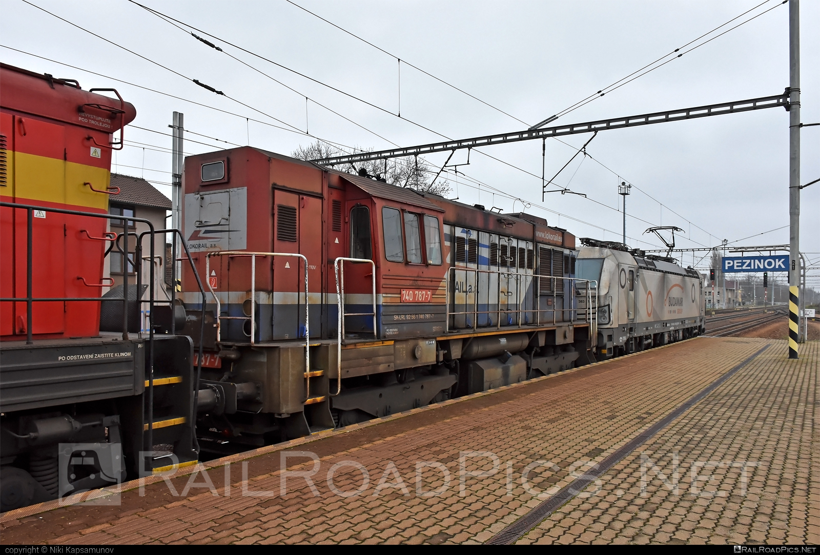 ČKD T 448.0 (740) - 740 787-7 operated by LOKORAIL, a.s. #ckd #ckd4480 #ckd740 #ckdt4480 #lokorail #lrl