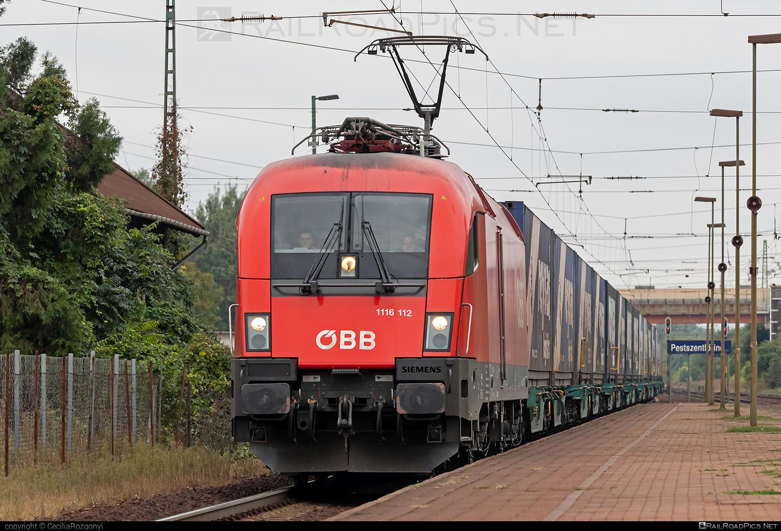 Siemens ES 64 U2 - 1116 112 operated by Rail Cargo Hungaria ZRt. #es64 #es64u #es64u2 #eurosprinter #flatwagon #obb #osterreichischebundesbahnen #rch #siemens #siemenses64 #siemenses64u #siemenses64u2 #siemenstaurus #taurus #tauruslocomotive