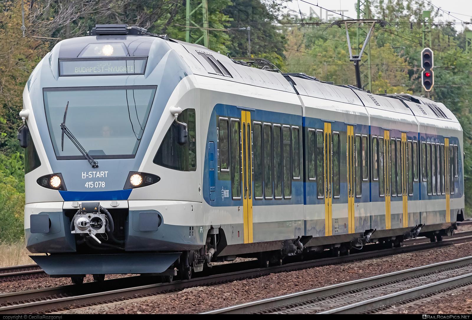 Stadler FLIRT - 415 078 operated by MÁV-START ZRt. #mav #mavstart #mavstartzrt #stadler #stadlerflirt #stadlerrail #stadlerrailag