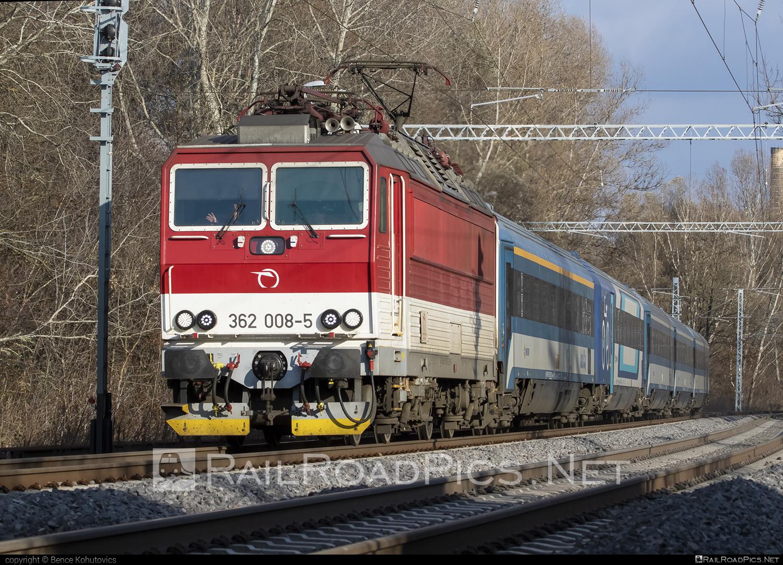 Škoda 69Er - 362 008-5 operated by Železničná Spoločnost' Slovensko, a.s. #ZeleznicnaSpolocnostSlovensko #eso #locomotive362 #rychleeso #skoda #skoda69er #zssk