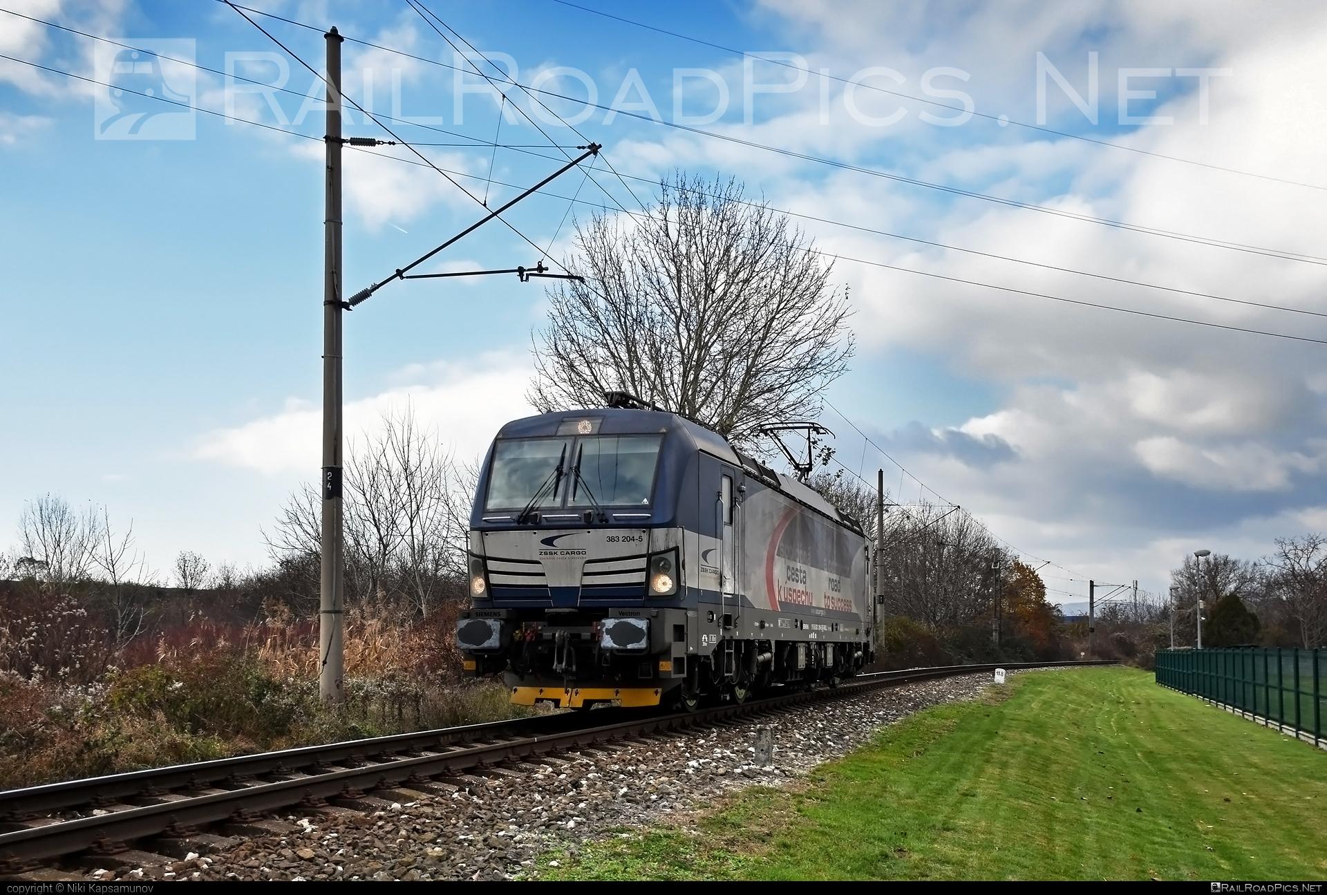 Siemens Vectron MS - 383 204-5 operated by Železničná Spoločnost' Cargo Slovakia a.s. #SRailLease #SRailLeaseSro #ZeleznicnaSpolocnostCargoSlovakia #raill #siemens #siemensvectron #siemensvectronms #vectron #vectronms #zsskcargo