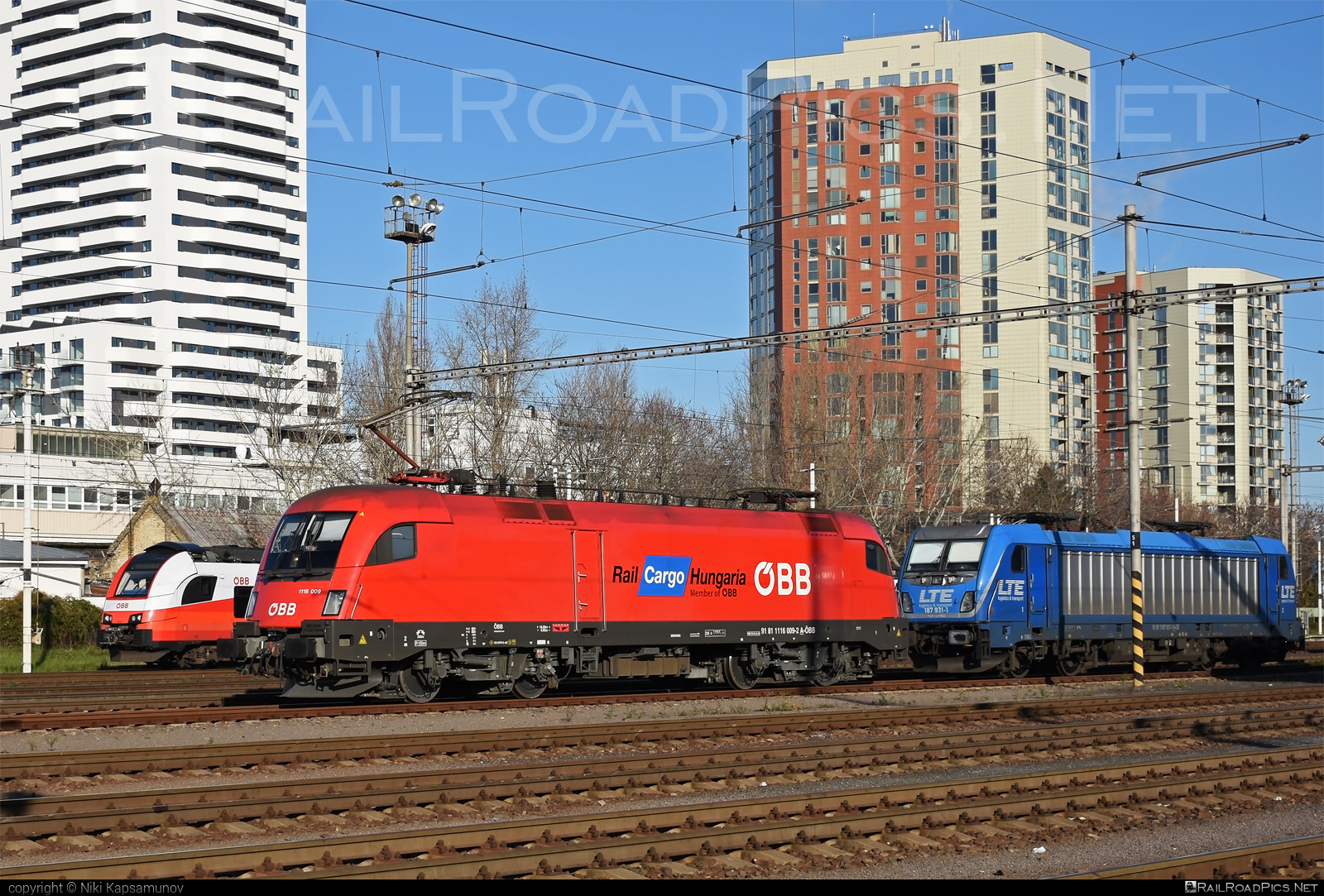 Siemens ES 64 U2 - 1116 009 operated by Rail Cargo Hungaria ZRt. #es64 #es64u #es64u2 #eurosprinter #obb #osterreichischebundesbahnen #rch #siemens #siemenses64 #siemenses64u #siemenses64u2 #siemenstaurus #tauruslocomotive