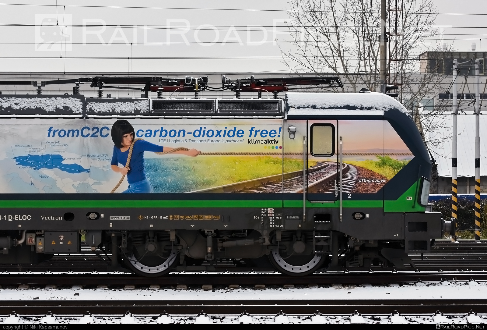 Siemens Vectron MS - 193 263 operated by LTE Logistik und Transport GmbH #ell #ellgermany #eloc #europeanlocomotiveleasing #lte #ltelogistikundtransport #ltelogistikundtransportgmbh #siemens #siemensvectron #siemensvectronms #vectron #vectronms