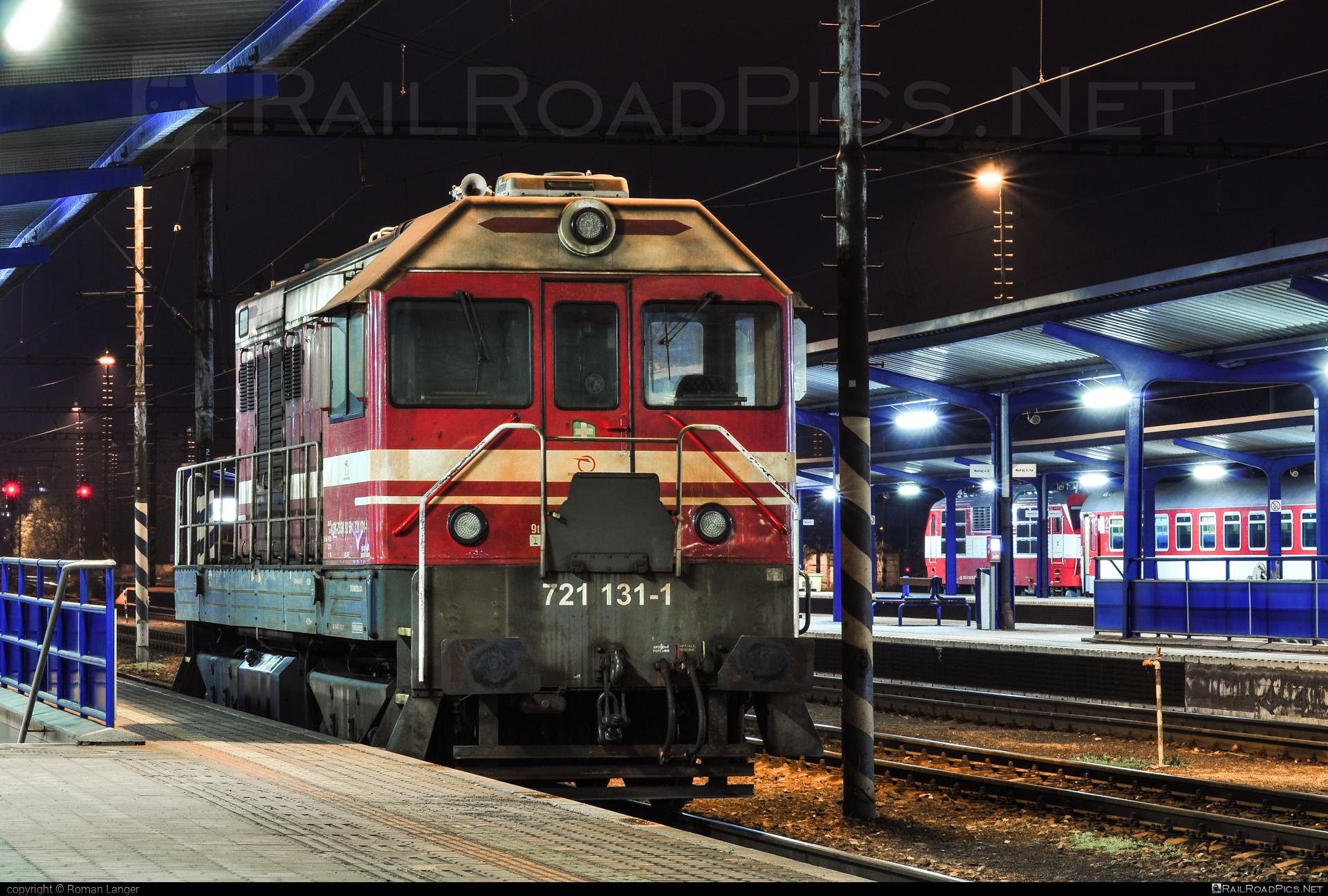 ČKD T 458.1 (721) - 721 131-1 operated by Železničná Spoločnost' Slovensko, a.s. #ZeleznicnaSpolocnostSlovensko #ckd #ckd721 #ckdt4581 #locomotive721 #locomotivet4581 #velkyhektor #zssk