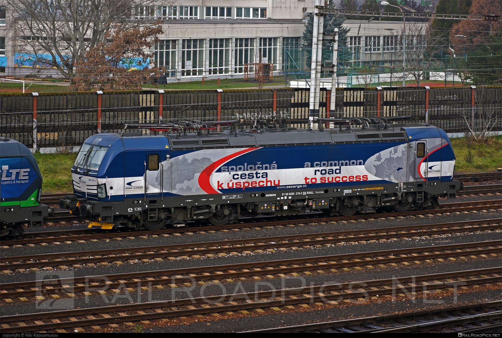 Siemens Vectron MS - 383 210-2 operated by Železničná Spoločnost' Cargo Slovakia a.s. #RollingStockLease #RollingStockLeaseSro #ZeleznicnaSpolocnostCargoSlovakia #raill #siemens #siemensvectron #siemensvectronms #vectron #vectronms #zsskcargo
