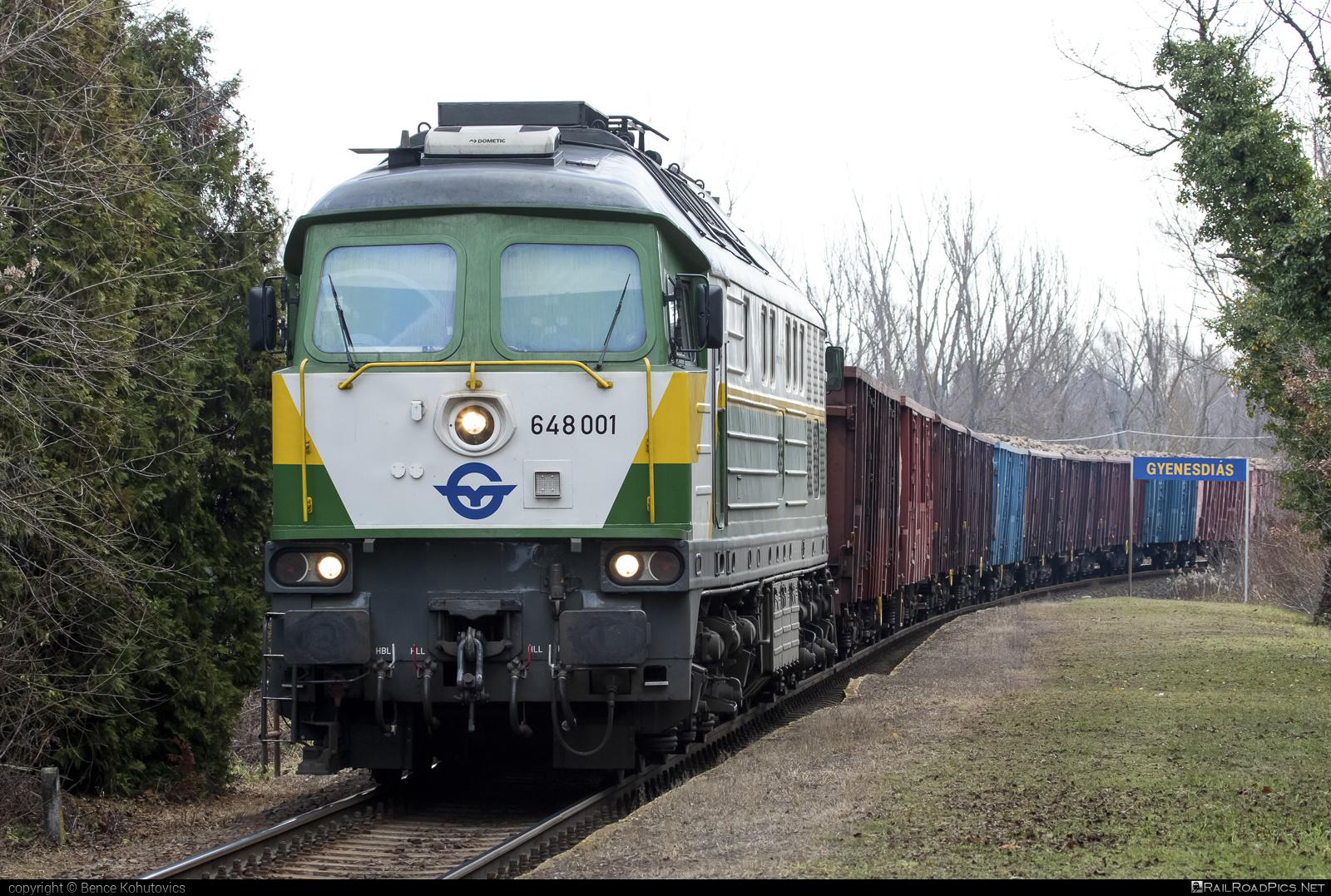 Lugansk TE109 - 648 001 operated by GYSEV Cargo Zrt #db233 #gyorsopronebenfurtivasutreszvenytarsasag #gysev #gysevcargo #ltz #ltzte109 #ludmila #ludmilla #lugansk #luganskte109 #luganskteplovoz #luhansklocomotiveworks #luhanskteplovoz
