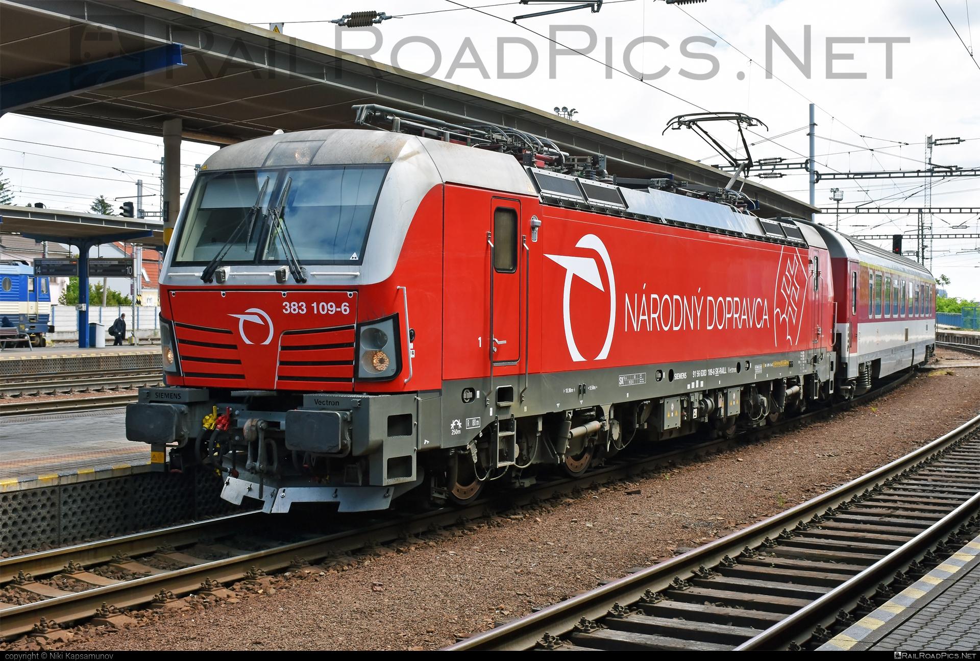 Siemens Vectron MS - 383 109-6 operated by Železničná Spoločnost' Slovensko, a.s. #SRailLease #SRailLeaseSro #ZeleznicnaSpolocnostSlovensko #raill #siemens #siemensvectron #siemensvectronms #vectron #vectronms #zssk