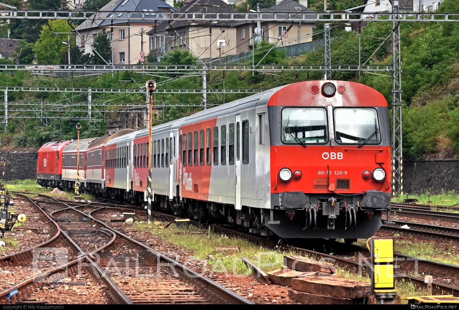 Class B - Bmpz-s - ÖBB CityShuttle control car - 80-73 126-9 operated by Österreichische Bundesbahnen #cityshuttle #obb #osterreichischebundesbahnen