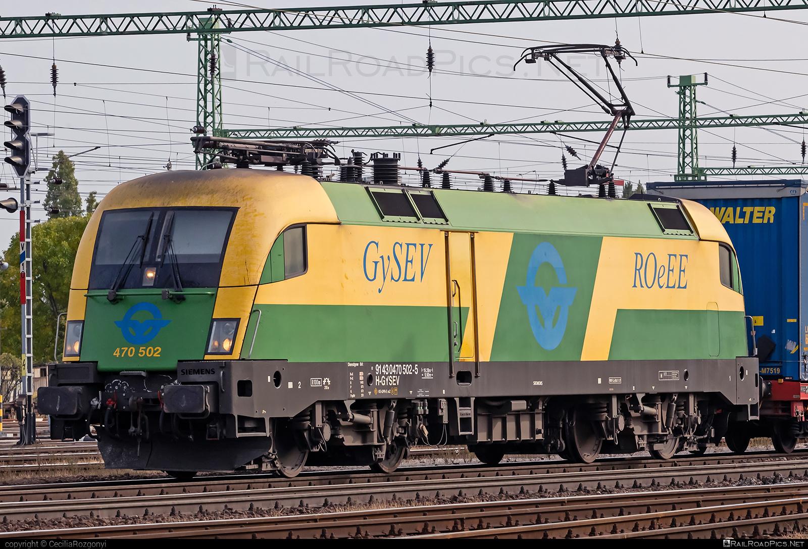Siemens ES 64 U2 - 470 502 operated by GYSEV - Györ-Sopron-Ebenfurti Vasut Részvénytarsasag #es64 #es64u #es64u2 #eurosprinter #gyorsopronebenfurtivasutreszvenytarsasag #gysev #roeee #siemens #siemenses64 #siemenses64u #siemenses64u2 #siemenstaurus #tauruslocomotive