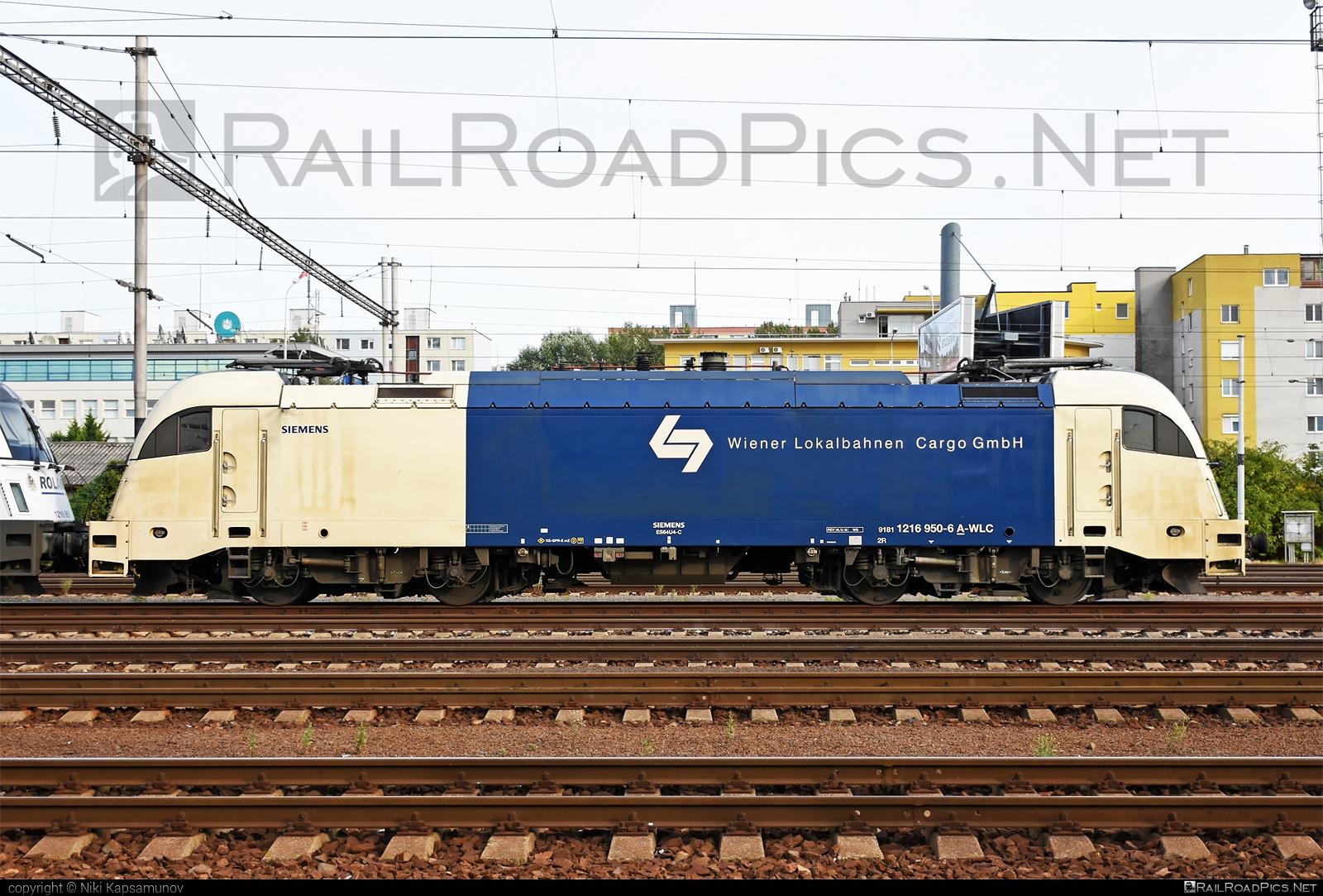 Siemens ES 64 U4 - 1216 950 operated by Wiener Lokalbahnen Cargo GmbH #es64 #es64u #es64u4 #eurosprinter #siemens #siemenses64 #siemenses64u #siemenses64u4 #siemenstaurus #taurus #tauruslocomotive #wienerlokalbahnencargo #wienerlokalbahnencargogmbh #wlc