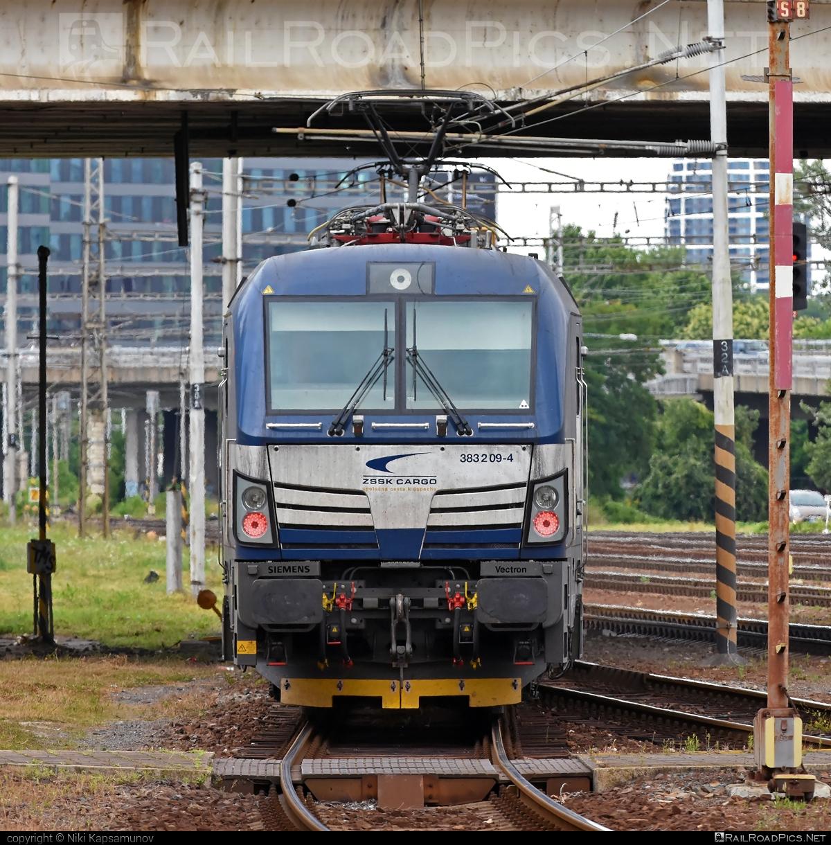 Siemens Vectron MS - 383 209-4 operated by Železničná Spoločnost' Cargo Slovakia a.s. #SRailLease #SRailLeaseSro #ZeleznicnaSpolocnostCargoSlovakia #raill #siemens #siemensvectron #siemensvectronms #vectron #vectronms #zsskcargo