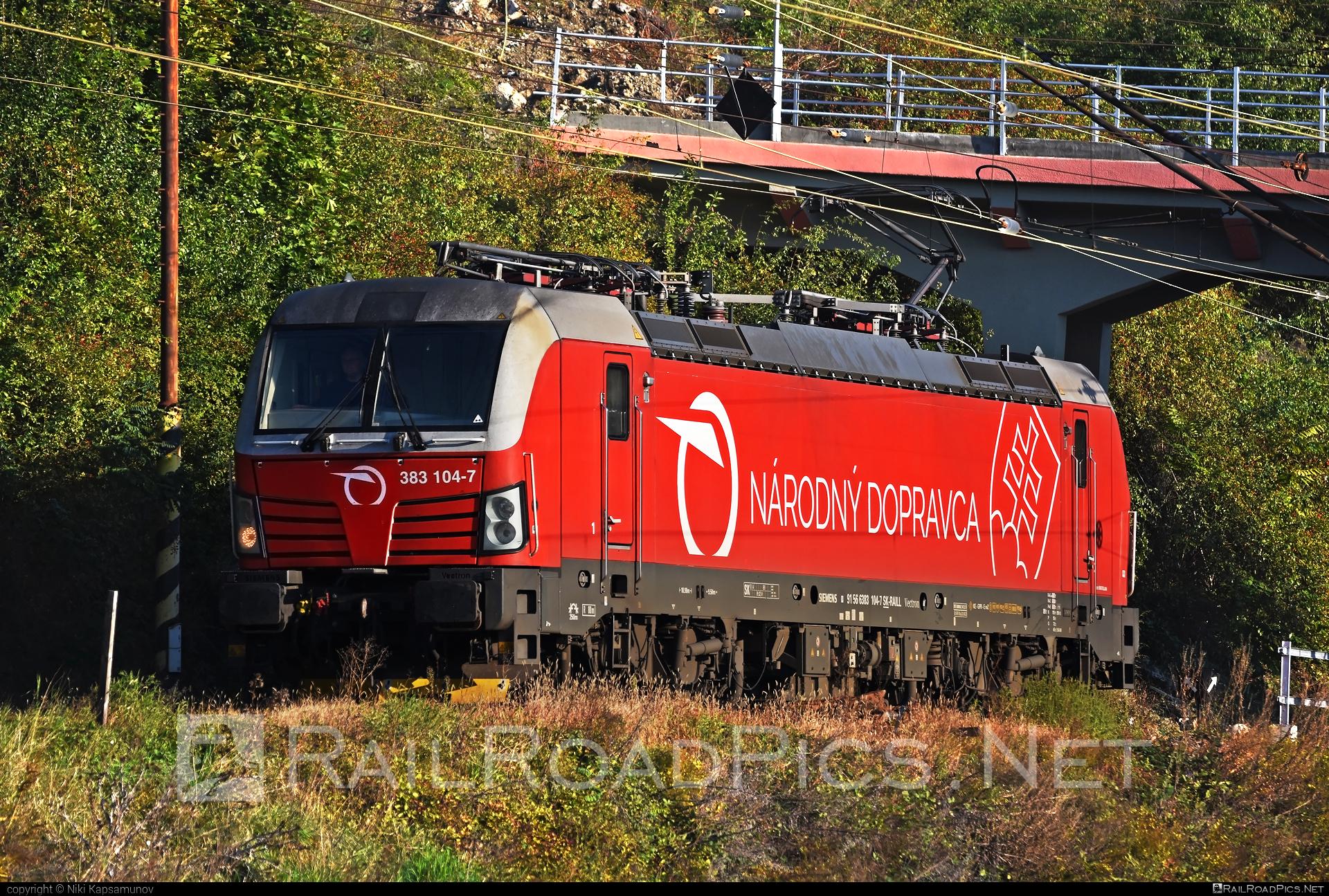 Siemens Vectron MS - 383 104-7 operated by Železničná Spoločnost' Slovensko, a.s. #SRailLease #SRailLeaseSro #ZeleznicnaSpolocnostSlovensko #raill #siemens #siemensvectron #siemensvectronms #vectron #vectronms #zssk