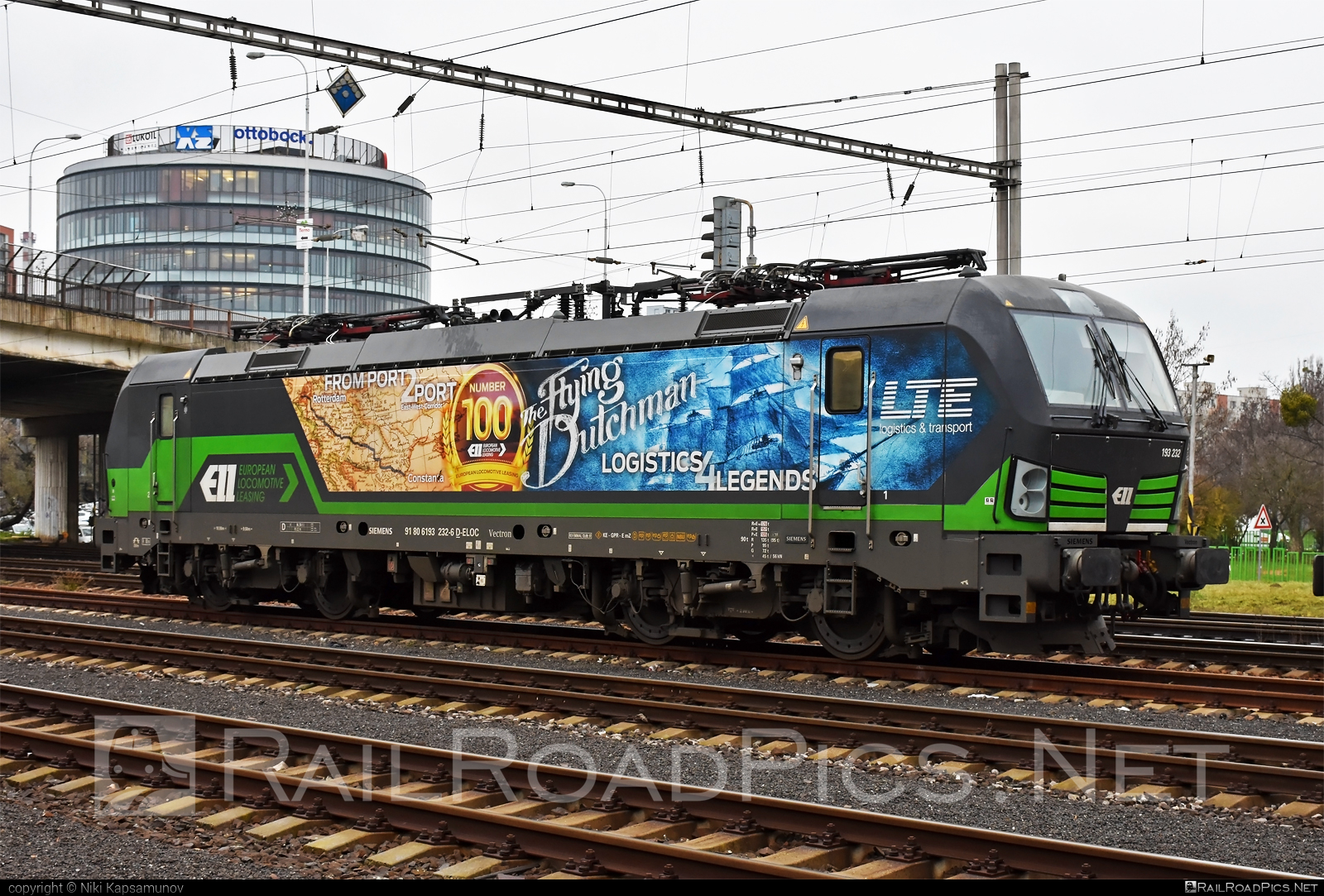 Siemens Vectron MS - 193 232 operated by LTE Logistik und Transport GmbH #ell #ellgermany #eloc #europeanlocomotiveleasing #lte #ltelogistikundtransport #ltelogistikundtransportgmbh #siemens #siemensvectron #siemensvectronms #vectron #vectronms