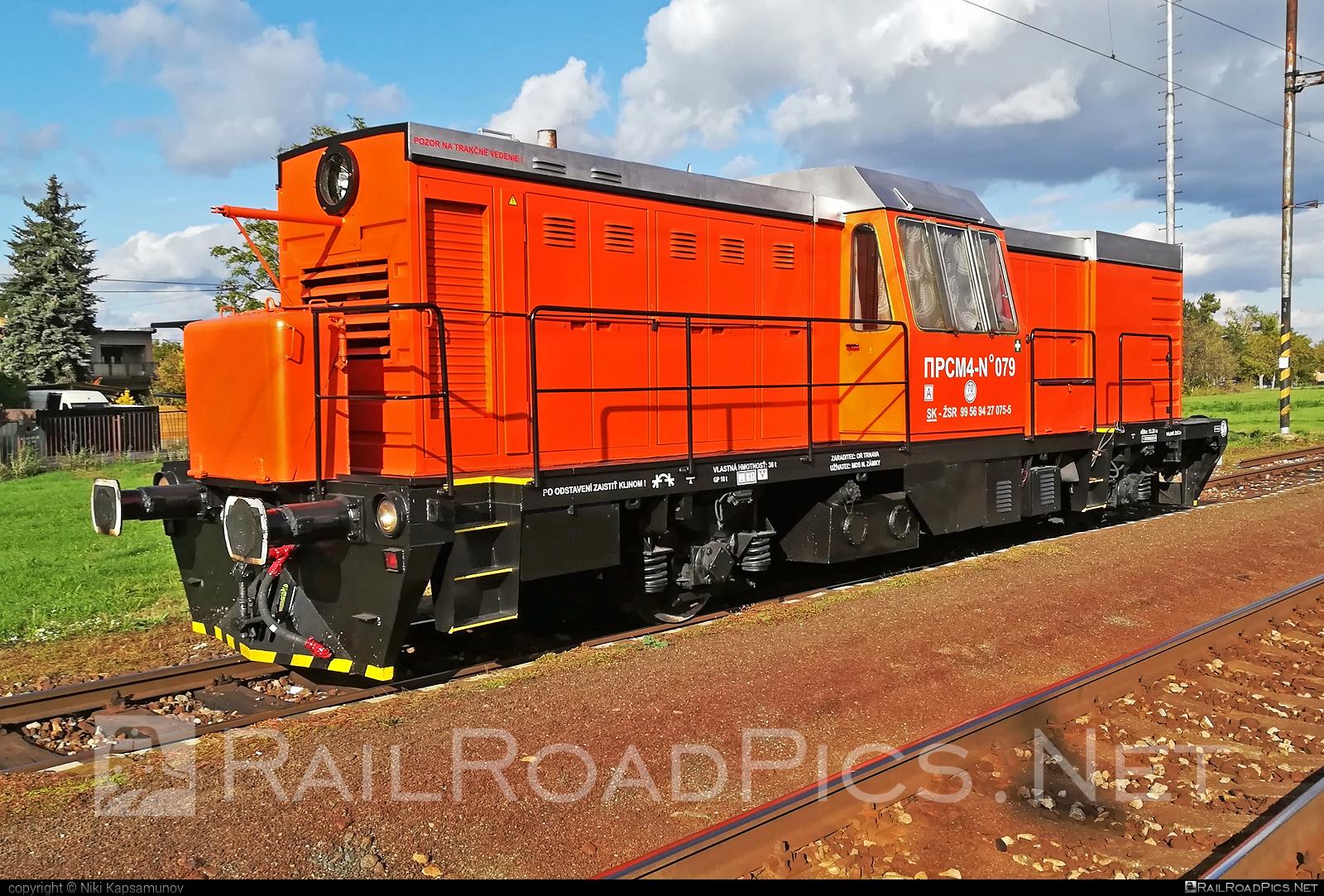 Kalugaputmash PRSM-4 - 427 075-5 operated by Železnice Slovenskej Republiky #kalugaputmash #prsm4 #srwm4 #zelezniceslovenskejrepubliky #zsr
