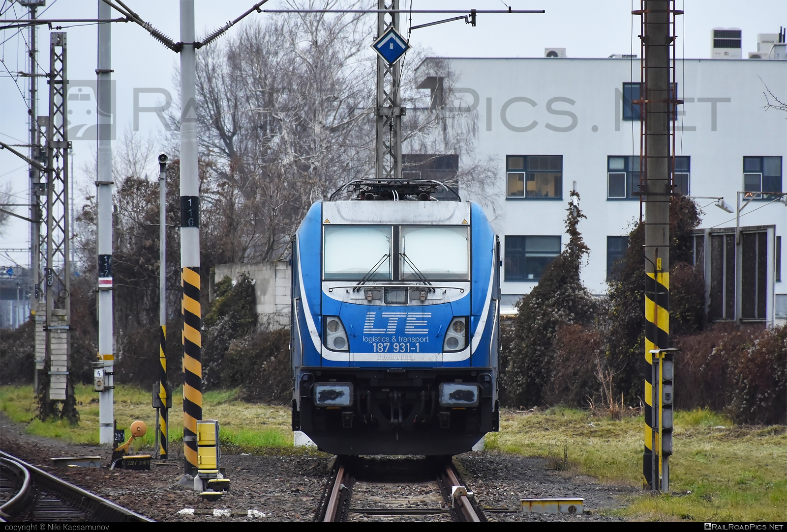 Bombardier TRAXX F160 AC3 - 187 931-1 operated by LTE Logistik und Transport GmbH #bombardier #bombardiertraxx #lte #ltelogistikundtransport #ltelogistikundtransportgmbh #traxx #traxxf160 #traxxf160ac #traxxf160ac3