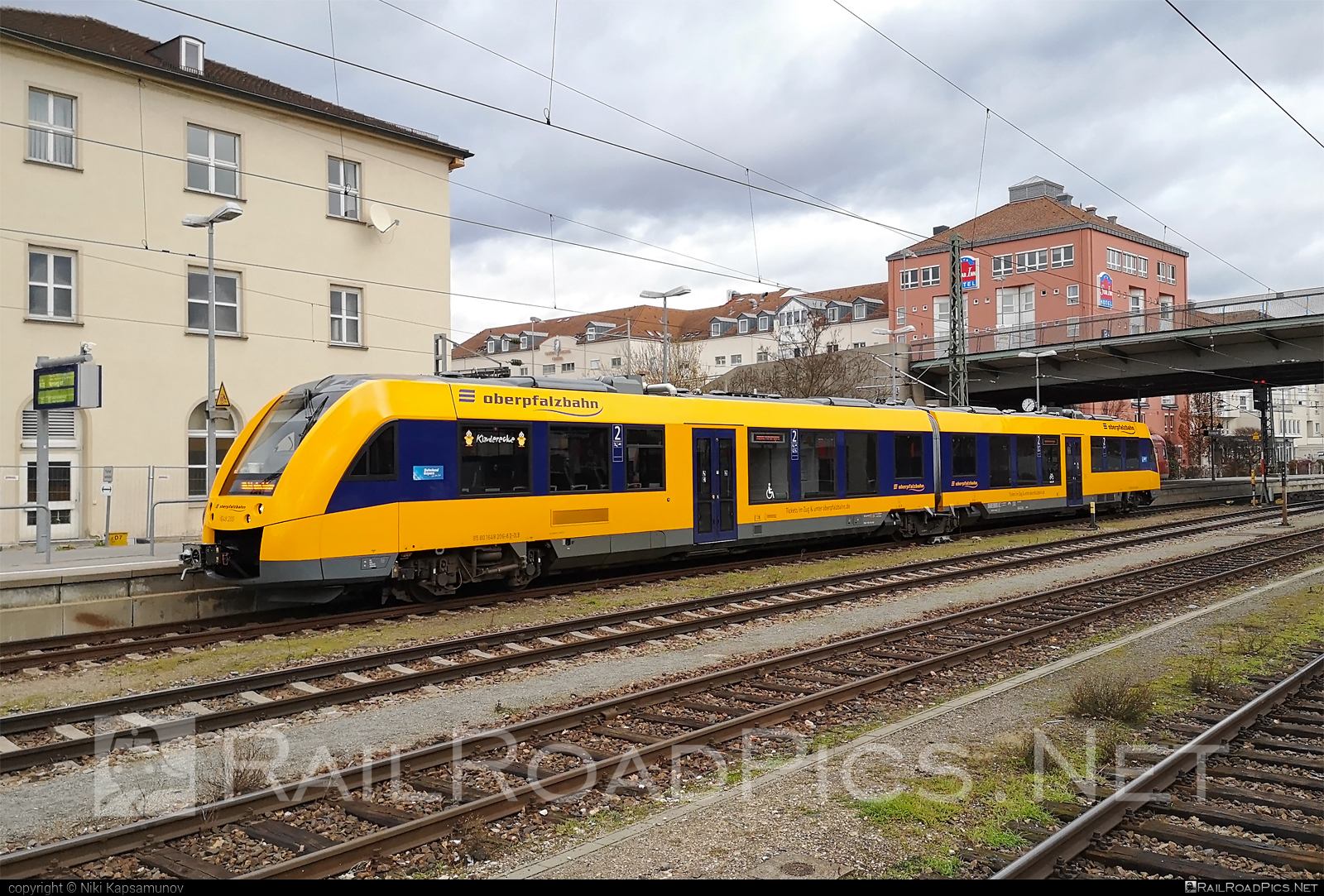 Alstom Coradia LINT 41 - 648 206-8 operated by Die Länderbahn GmbH DLB #alstom #alstomcoradia #alstomcoradialint #alstomcoradialint41 #coradialint41 #dielanderbahn #oberpfalzbahn