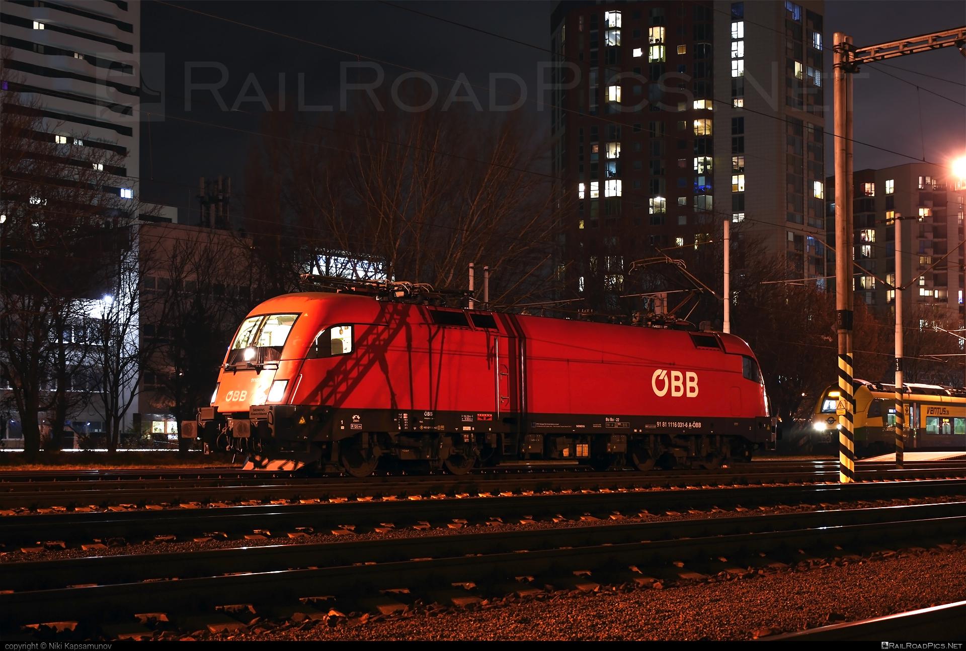 Siemens ES 64 U2 - 1116 031 operated by Rail Cargo Austria AG #es64 #es64u #es64u2 #eurosprinter #obb #osterreichischebundesbahnen #rcw #siemens #siemenses64 #siemenses64u #siemenses64u2 #siemenstaurus #taurus #tauruslocomotive