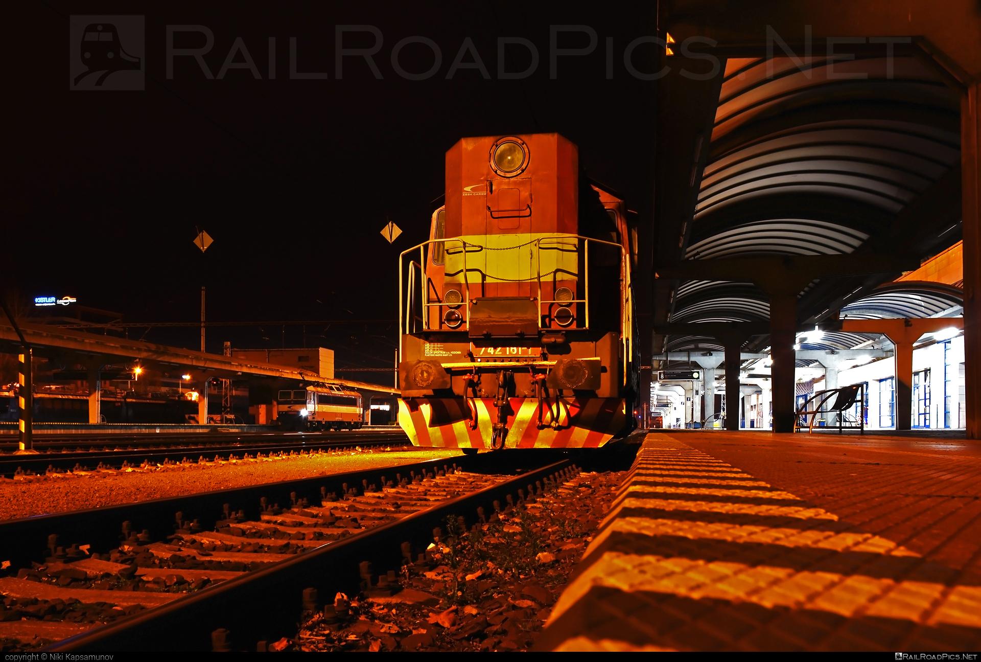 ČKD T 466.2 (742) - 742 181-1 operated by Železničná Spoločnost' Cargo Slovakia a.s. #ZeleznicnaSpolocnostCargoSlovakia #ckd #ckd4662 #ckd742 #ckdt4662 #zsskcargo