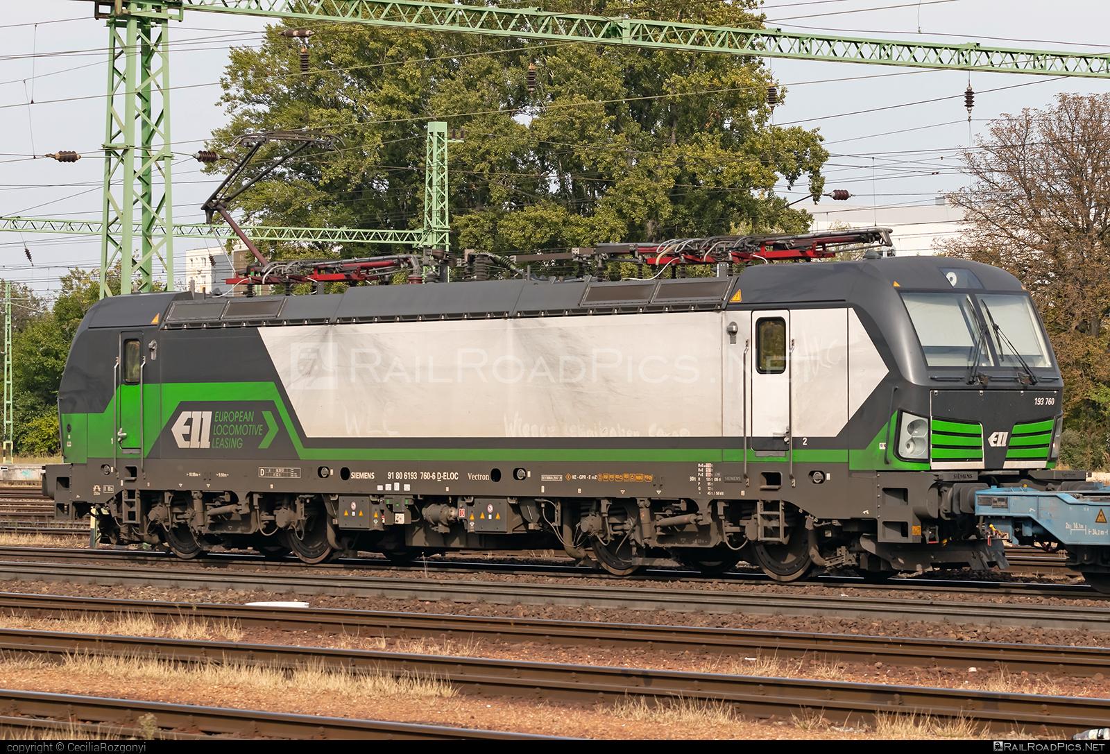 Siemens Vectron MS - 193 760 operated by ecco-rail GmbH #eccorail #eccorailgmbh #ell #ellgermany #eloc #europeanlocomotiveleasing #siemens #siemensvectron #siemensvectronms #vectron #vectronms