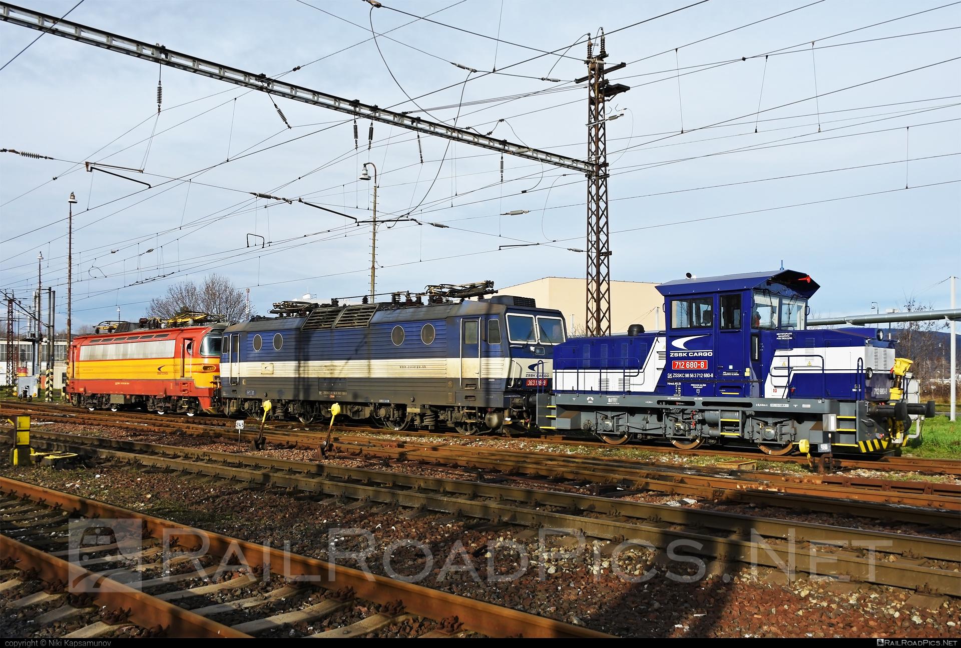 ŽOS Zvolen Class 712 - 712 680-8 operated by Železničná Spoločnost' Cargo Slovakia a.s. #ZeleznicnaSpolocnostCargoSlovakia #locomotive712 #zoszvolen #zoszvolen712 #zsskcargo
