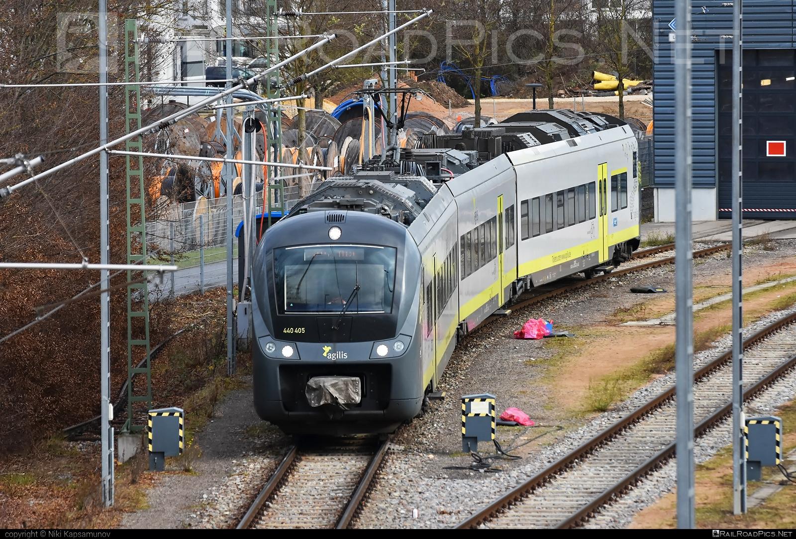 Alstom Coradia Continental - 440 405 operated by Agilis Verkersgesellschaft mbH & Co KG #agilis #agilisverkersgesellschaft #alstom #alstomcoradia #alstomcoradiacontinental