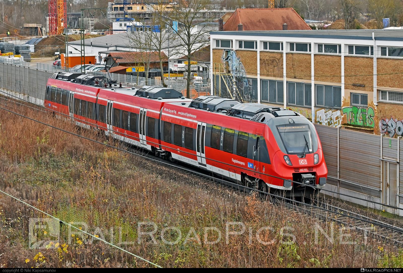 Bombardier Talent 2 - 442 102 operated by Deutsche Bahn / DB AG #bombardier #bombardiertalent #bombardiertalent2 #db #deutschebahn #flughafenexpress #talent2