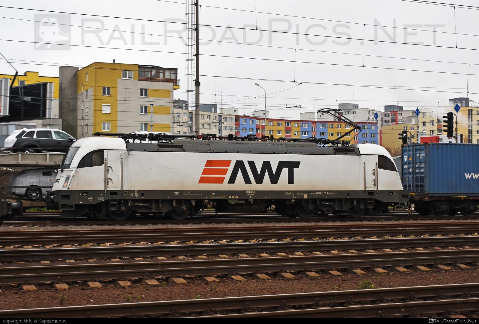 Siemens ES 64 U4 - 183 714 operated by PKP CARGO INTERNATIONAL a.s. #awt #es64 #es64u #es64u4 #eurosprinter #pkpcargointernational #pkpcargointernationalas #siemens #siemenses64 #siemenses64u #siemenses64u4 #siemenstaurus #taurus #tauruslocomotive
