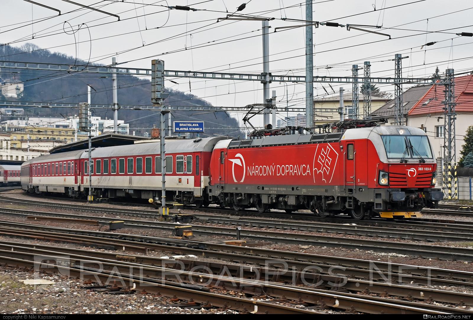 Siemens Vectron MS - 383 103-9 operated by Železničná Spoločnost' Slovensko, a.s. #RollingStockLease #RollingStockLeaseSro #ZeleznicnaSpolocnostSlovensko #raill #siemens #siemensvectron #siemensvectronms #vectron #vectronms #zssk