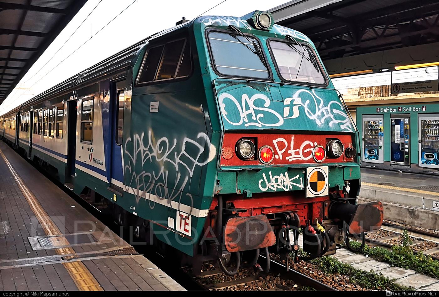 Class B - MDVC semi-pilot - Unknown vehicle ID operated by Trenitalia S.p.A. #ferroviedellostato #fs #fsitaliane #mdvc #trenitalia #trenitaliaspa #xmpr