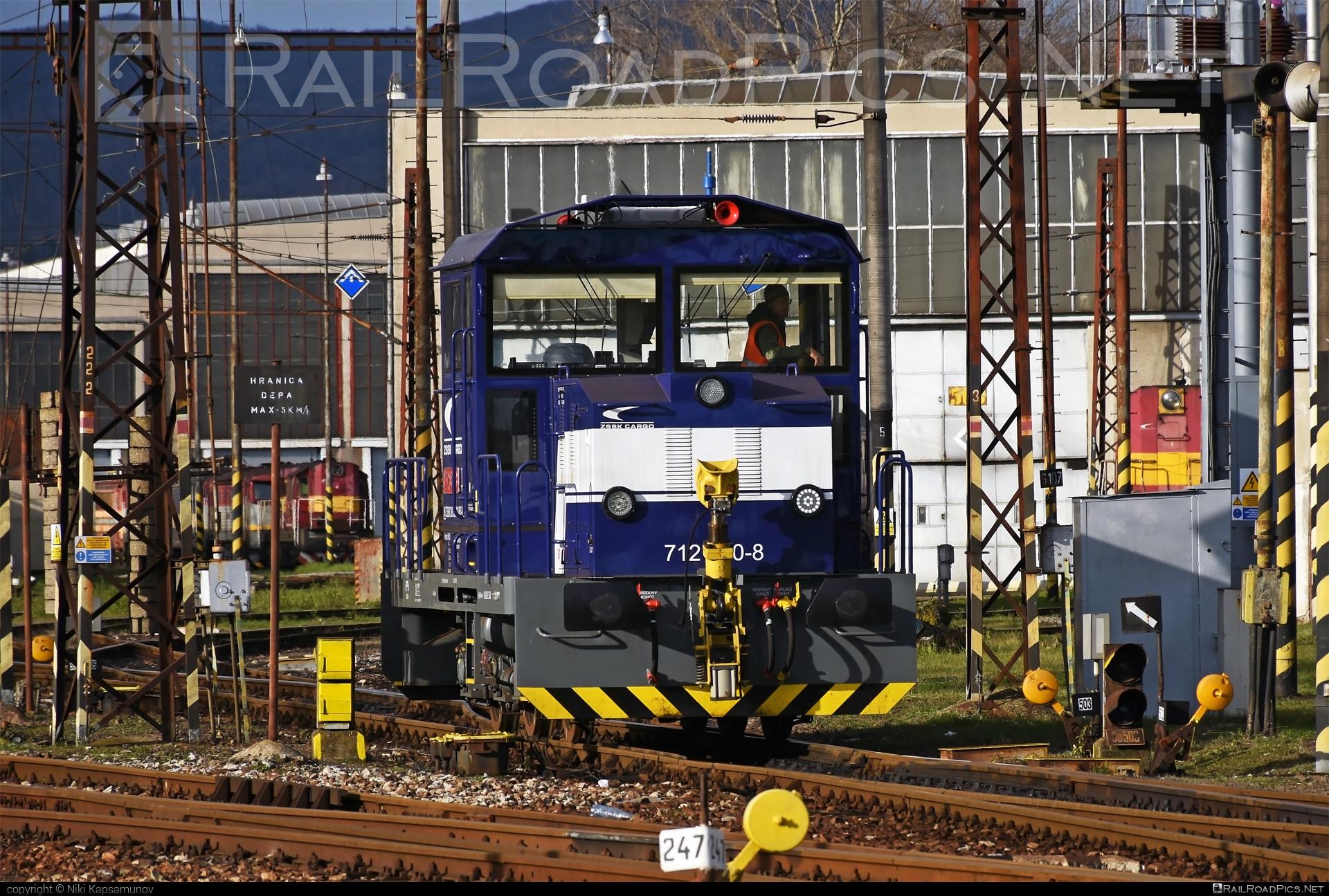 ŽOS Zvolen 712 - 712 680-8 operated by Železničná Spoločnost' Cargo Slovakia a.s. #ZeleznicnaSpolocnostCargoSlovakia #locomotive712 #zoszvolen #zoszvolen712 #zsskcargo