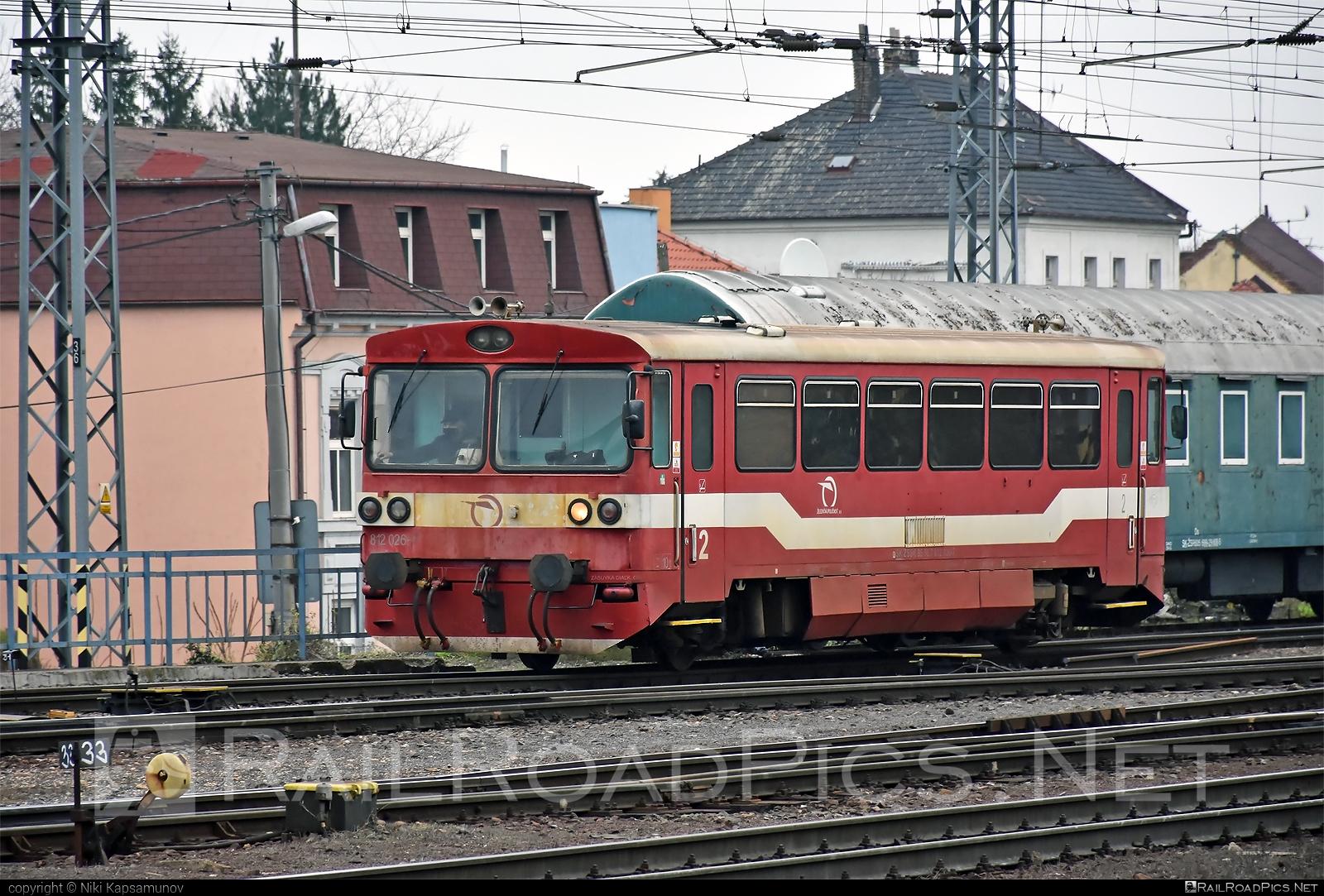 ŽOS Zvolen 812 - 812 026 operated by Železničná Spoločnost' Slovensko, a.s. #ZeleznicnaSpolocnostSlovensko #zoszvolen #zoszvolen812 #zssk