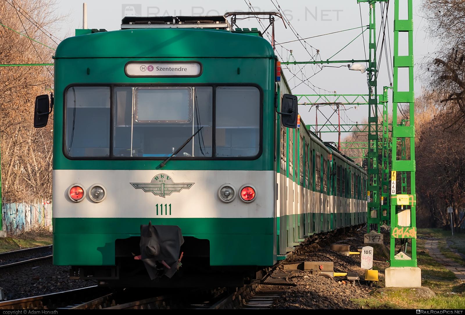LEW Hennigsdorf MXa - 1111 operated by Budapesti Helyi Érdekü Vasút #BudapestiHelyiErdekuVasut #bhev #hansbeimler #lewhennigsdorf #lewmxa
