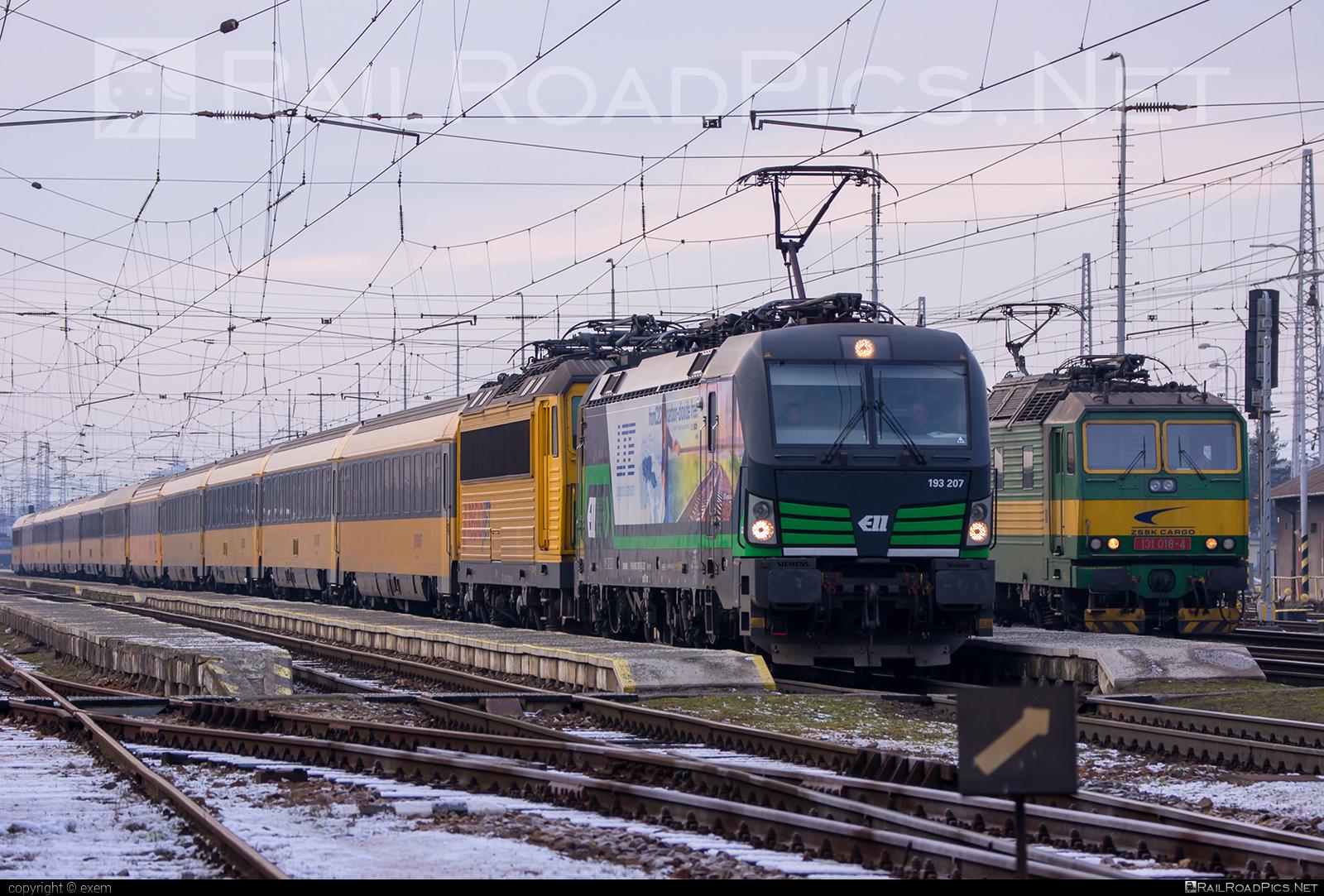 Siemens Vectron MS - 193 207 operated by RegioJet, a.s. #ell #ellgermany #eloc #europeanlocomotiveleasing #regiojet #siemens #siemensvectron #siemensvectronms #vectron #vectronms