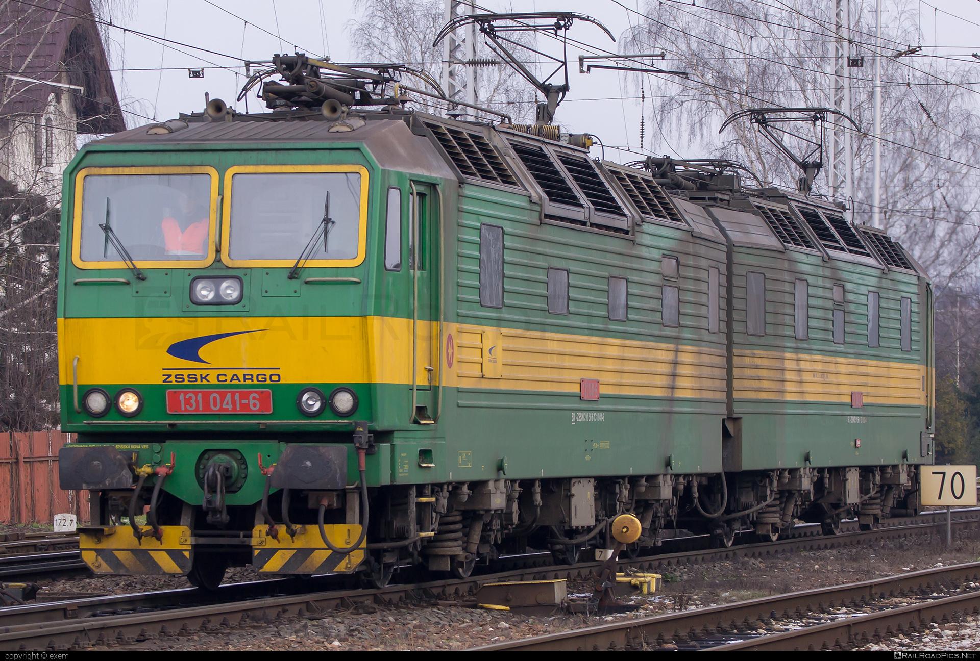 Škoda 58E - 131 041-6 operated by Železničná Spoločnost' Cargo Slovakia a.s. #ZeleznicnaSpolocnostCargoSlovakia #e4791 #locomotive131 #skoda #skoda58e #zsskcargo