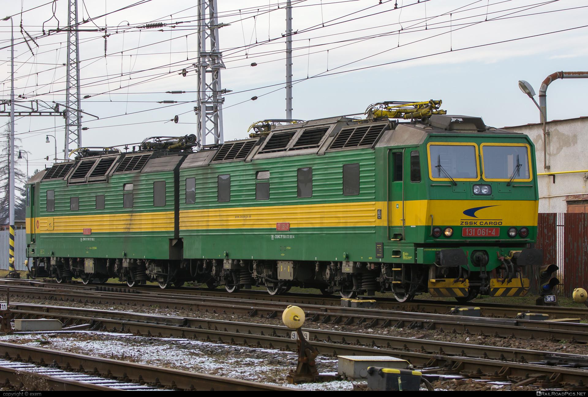 Škoda 58E - 131 061-4 operated by Železničná Spoločnost' Cargo Slovakia a.s. #ZeleznicnaSpolocnostCargoSlovakia #e4791 #locomotive131 #skoda #skoda58e #zsskcargo