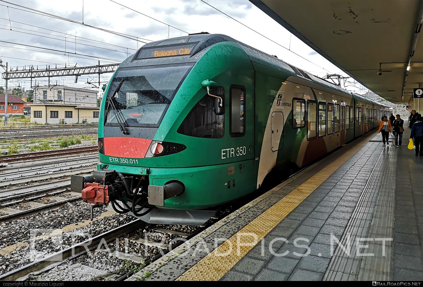 Stadler FLIRT - ETR 350.011 operated by Trenitalia S.p.A. #ferroviedellostato #fs #fsitaliane #stadler #stadlerflirt #stadlerrail #stadlerrailag #trenitalia #trenitaliaspa