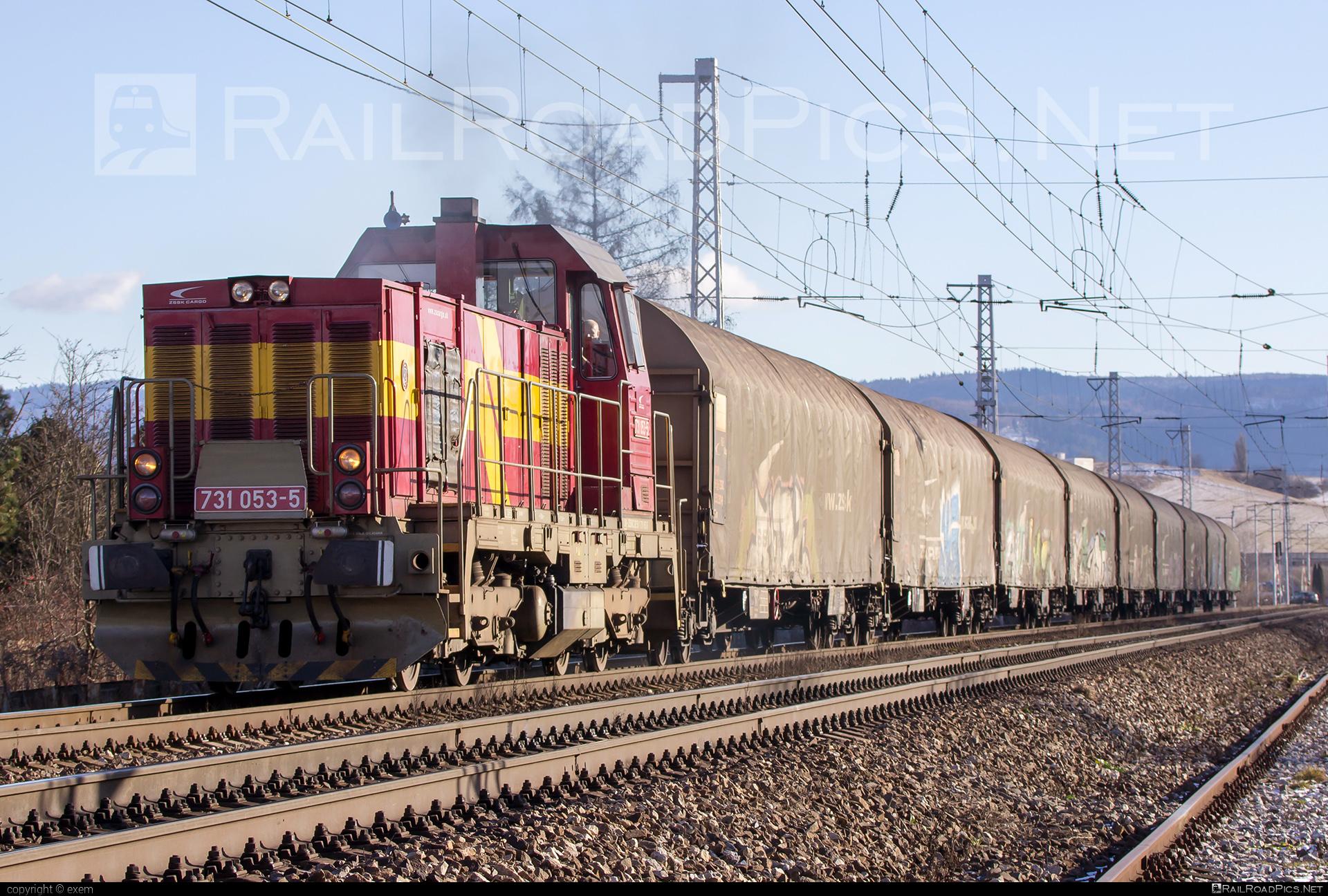 ČKD T 457.1 (731) - 731 053-5 operated by Železničná Spoločnost' Cargo Slovakia a.s. #ZeleznicnaSpolocnostCargoSlovakia #ckd #ckd4571 #ckd731 #ckdt4571 #zsskcargo