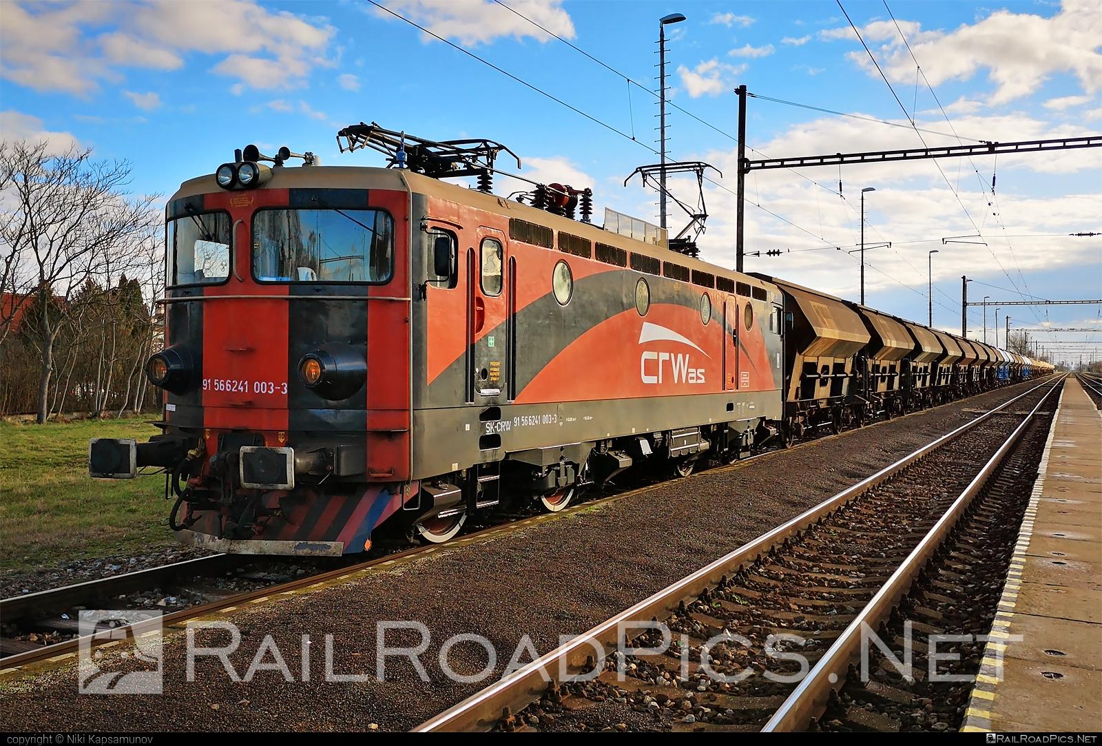 Končar JŽ class 441 - 241 003-3 operated by CENTRAL RAILWAYS s.r.o. #crw #duslo #electroputere #hopperwagon #jz441 #koncar #koncar441