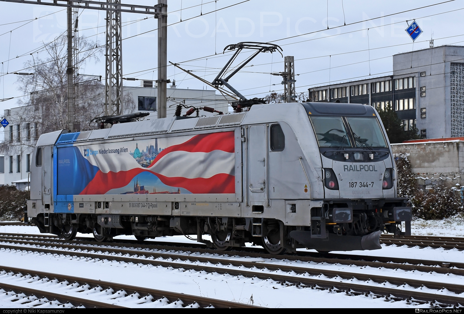 Bombardier TRAXX F160 AC3 - 187 344-7 operated by ČD Cargo, a.s. #bombardier #bombardiertraxx #cdcargo #railpool #railpoolgmbh #traxx #traxxf160 #traxxf160ac #traxxf160ac3
