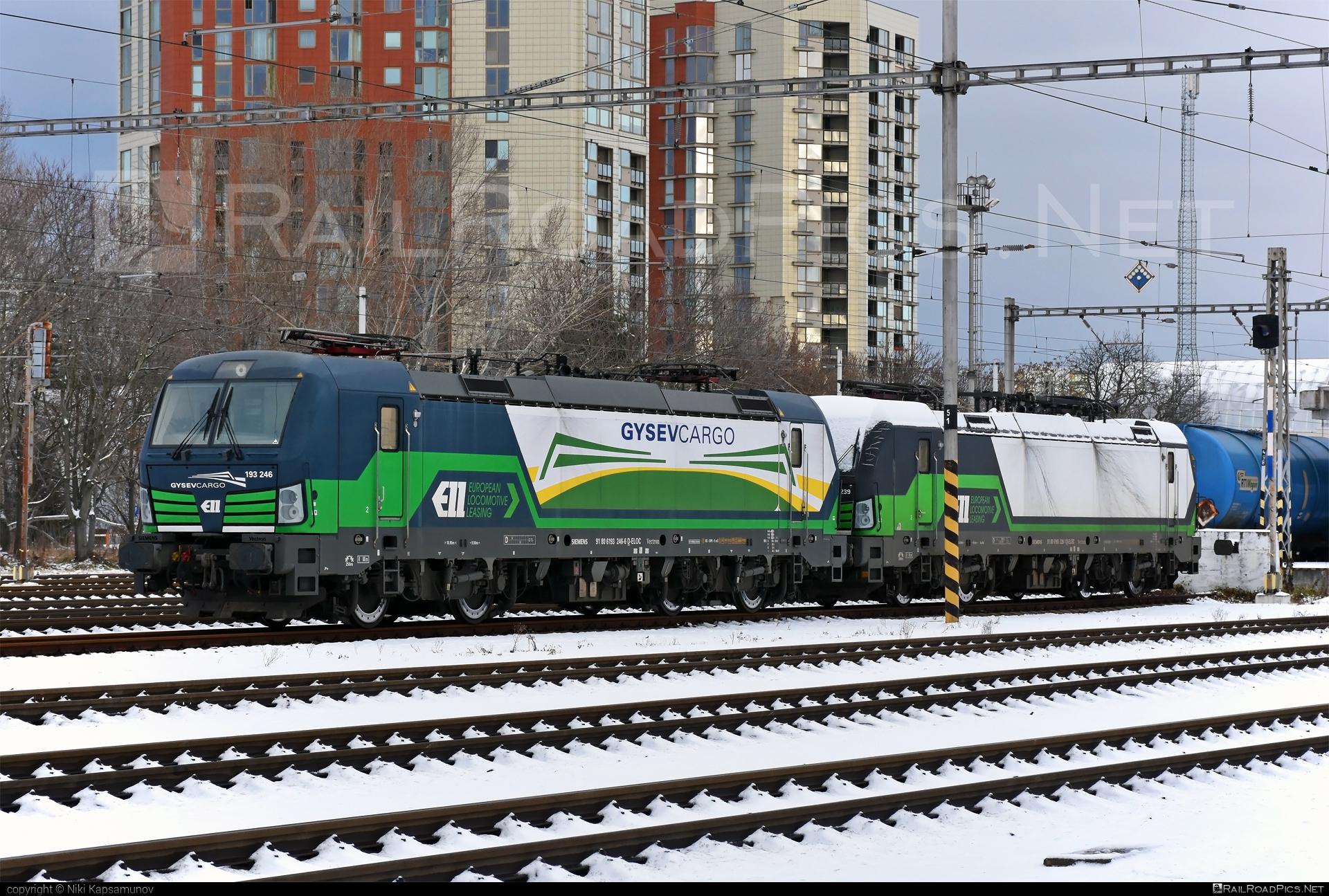 Siemens Vectron AC - 193 246-6 operated by GYSEV Cargo Zrt #ell #ellgermany #eloc #europeanlocomotiveleasing #gysev #gysevcargo #siemens #siemensvectron #siemensvectronac #vectron #vectronac