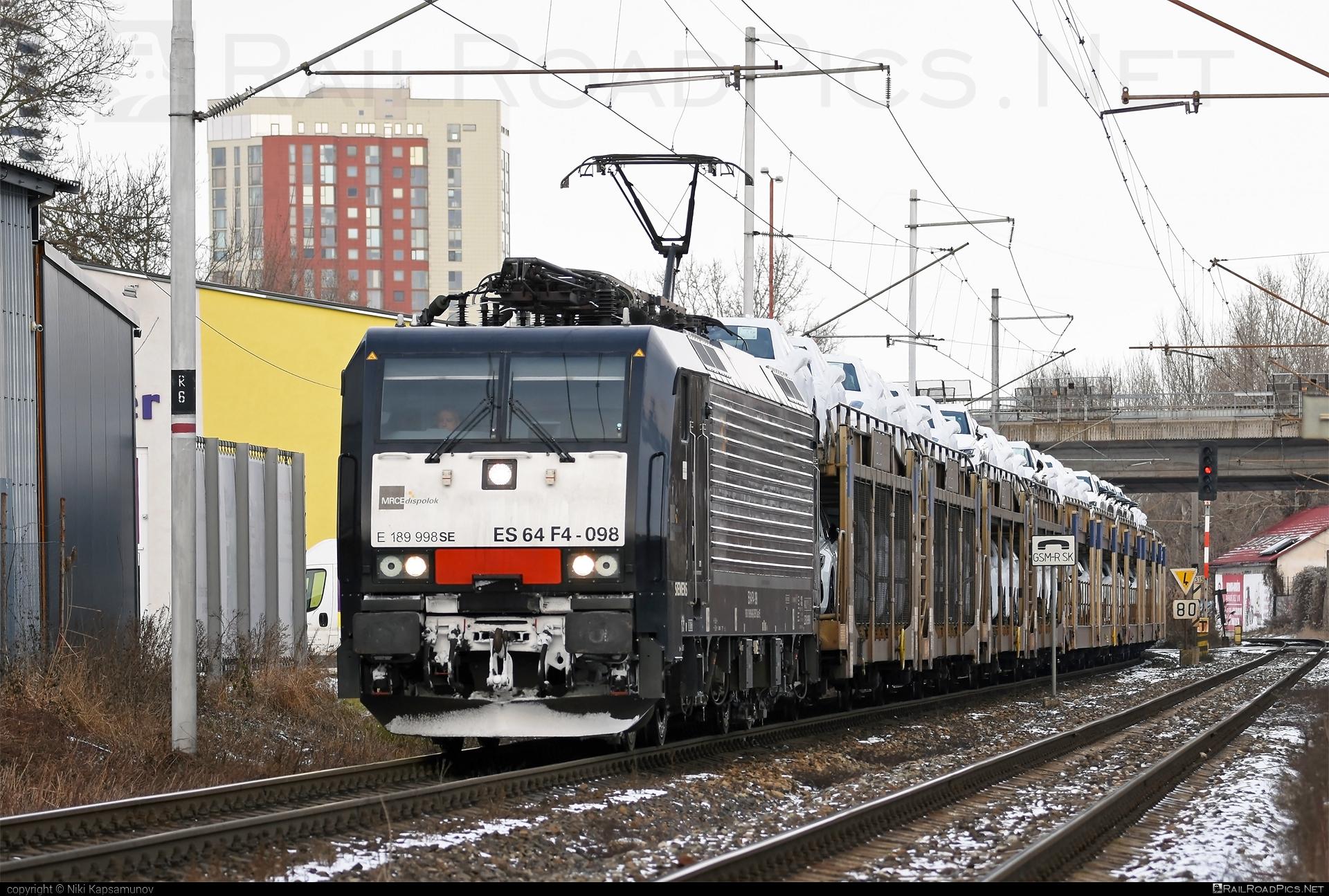 Siemens ES 64 F4 - 189 998-8 operated by ecco-rail GmbH #carcarrierwagon #dispolok #eccorail #eccorailgmbh #es64 #es64f4 #eurosprinter #mitsuirailcapitaleurope #mitsuirailcapitaleuropegmbh #mrce #siemens #siemenses64 #siemenses64f4