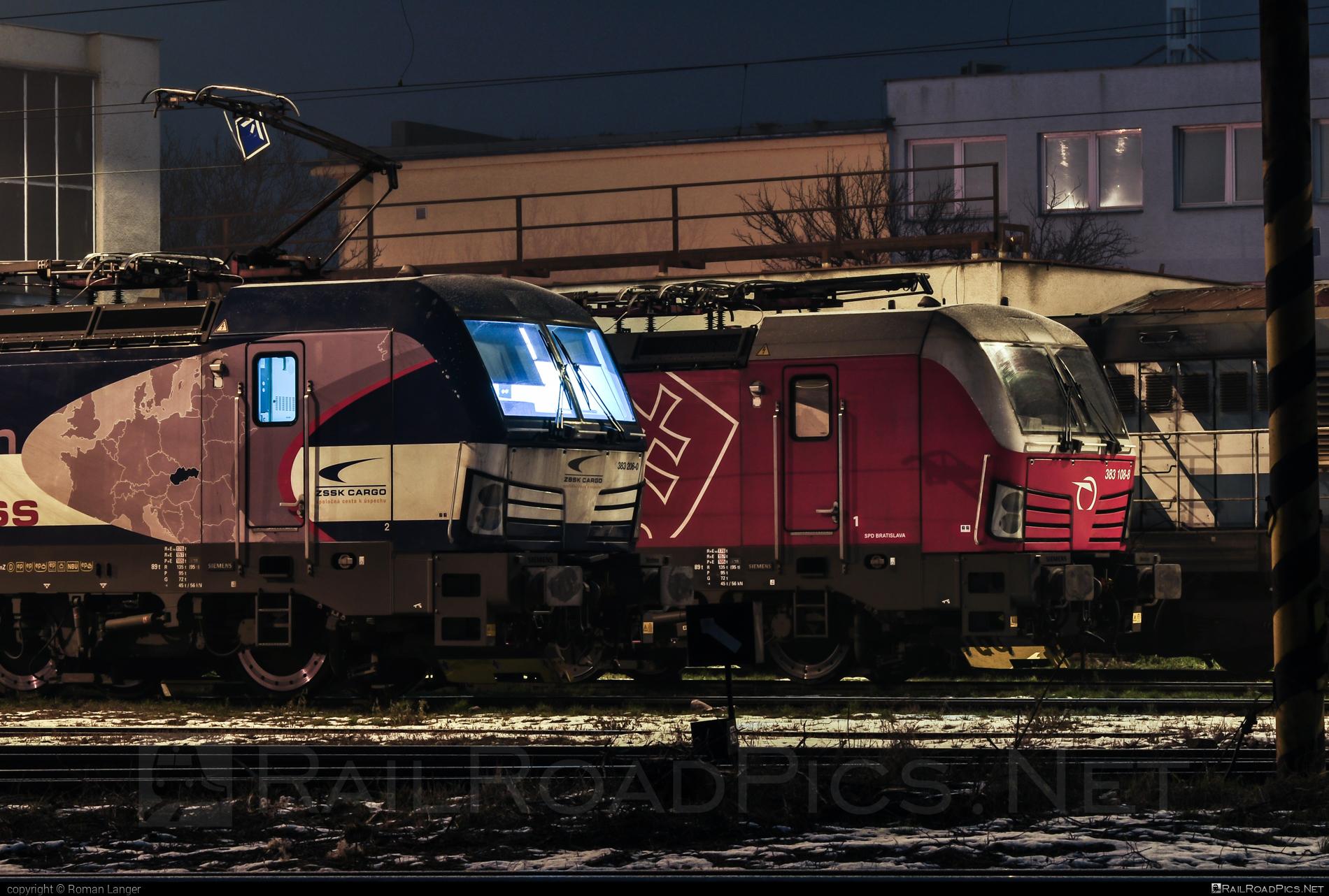 Siemens Vectron MS - 383 206-0 operated by Železničná Spoločnost' Cargo Slovakia a.s. #RollingStockLease #RollingStockLeaseSro #ZeleznicnaSpolocnostCargoSlovakia #raill #siemens #siemensvectron #siemensvectronms #vectron #vectronms #zsskcargo