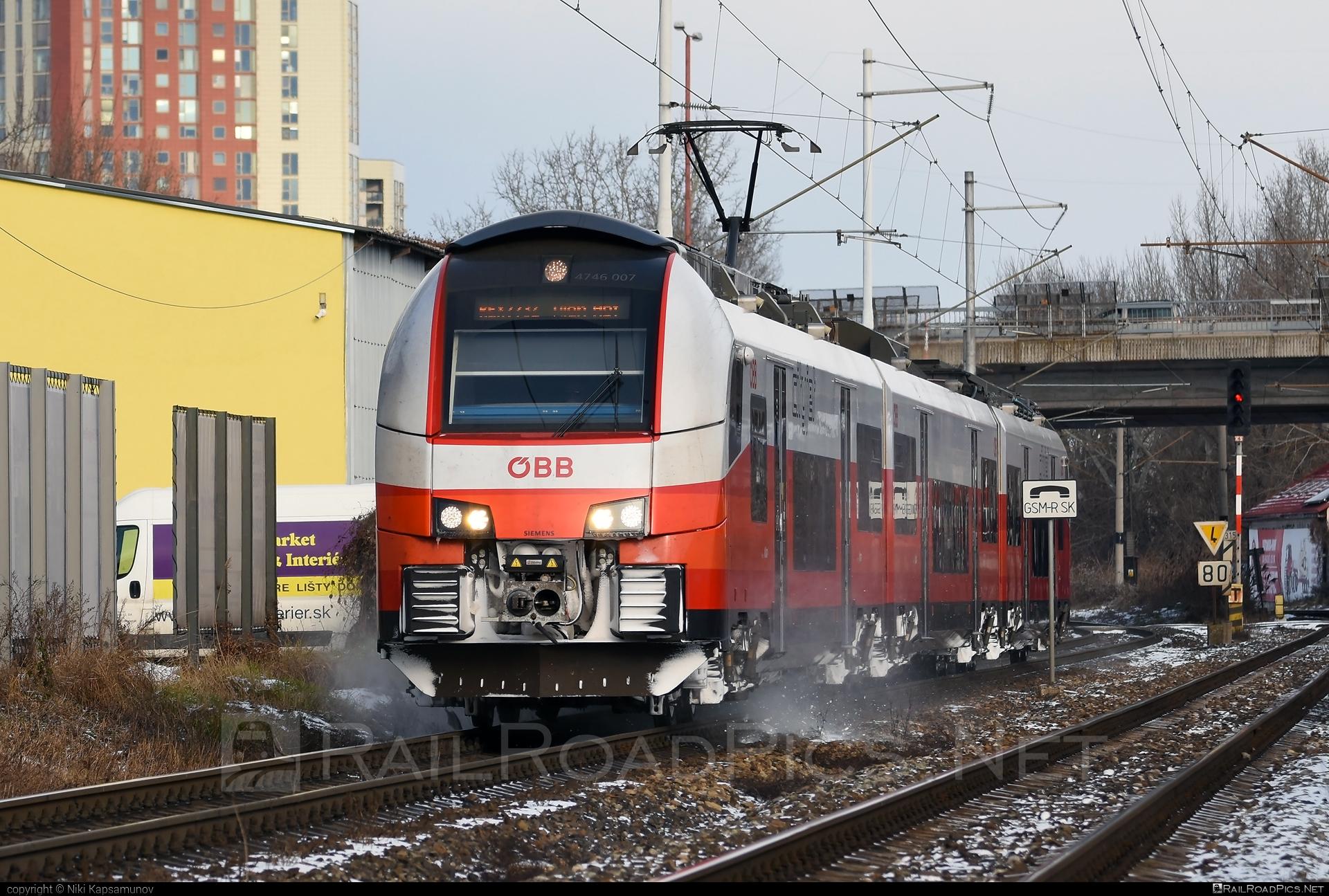 Siemens Desiro ML - 4746 007 operated by Österreichische Bundesbahnen #cityjet #desiro #desiroml #obb #obbcityjet #osterreichischebundesbahnen #siemens #siemensdesiro #siemensdesiroml