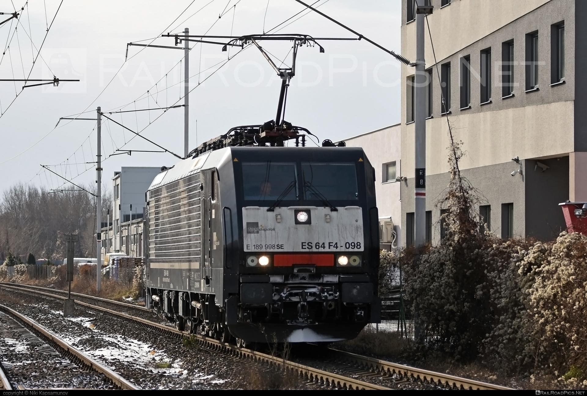 Siemens ES 64 F4 - 189 998-8 operated by ecco-rail GmbH #dispolok #eccorail #eccorailgmbh #es64 #es64f4 #eurosprinter #mitsuirailcapitaleurope #mitsuirailcapitaleuropegmbh #mrce #siemens #siemenses64 #siemenses64f4