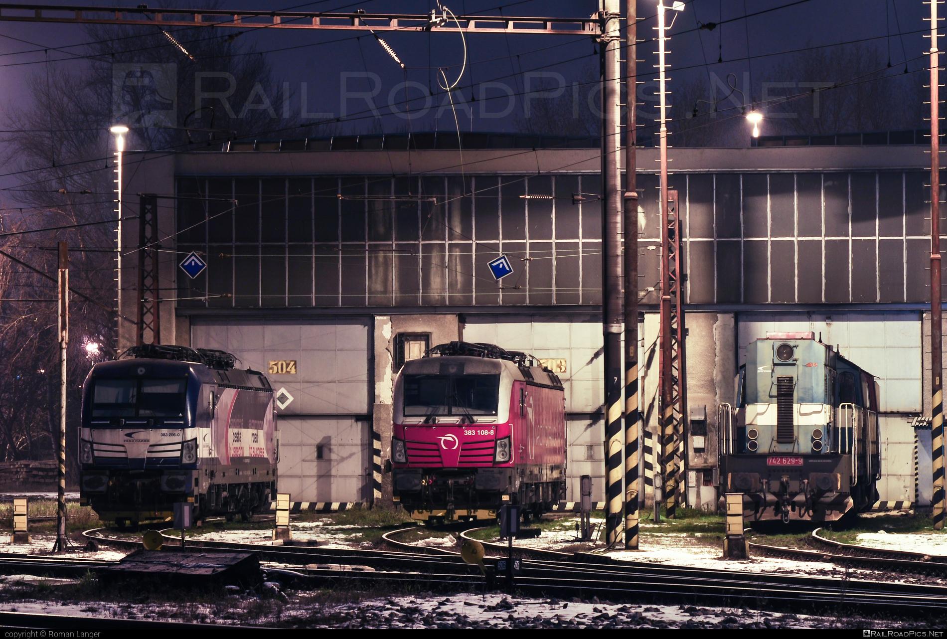 Siemens Vectron MS - 383 108-8 operated by Železničná Spoločnost' Slovensko, a.s. #RollingStockLease #RollingStockLeaseSro #ZeleznicnaSpolocnostSlovensko #raill #siemens #siemensvectron #siemensvectronms #vectron #vectronms #zssk