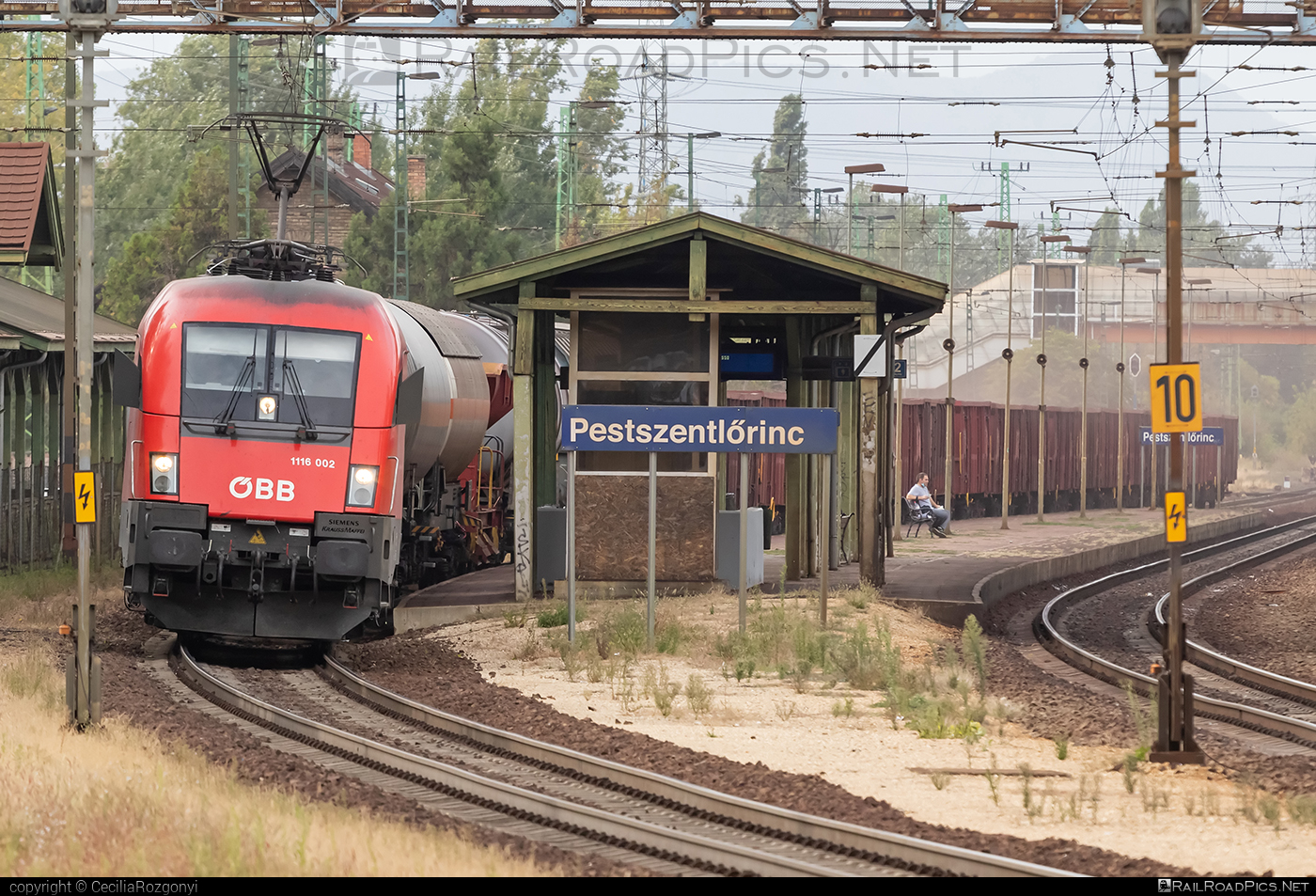 Siemens ES 64 U2 - 1116 002 operated by Rail Cargo Hungaria ZRt. #es64 #es64u #es64u2 #eurosprinter #obb #osterreichischebundesbahnen #siemens #siemenses64 #siemenses64u #siemenses64u2 #siemenstaurus #tauruslocomotive