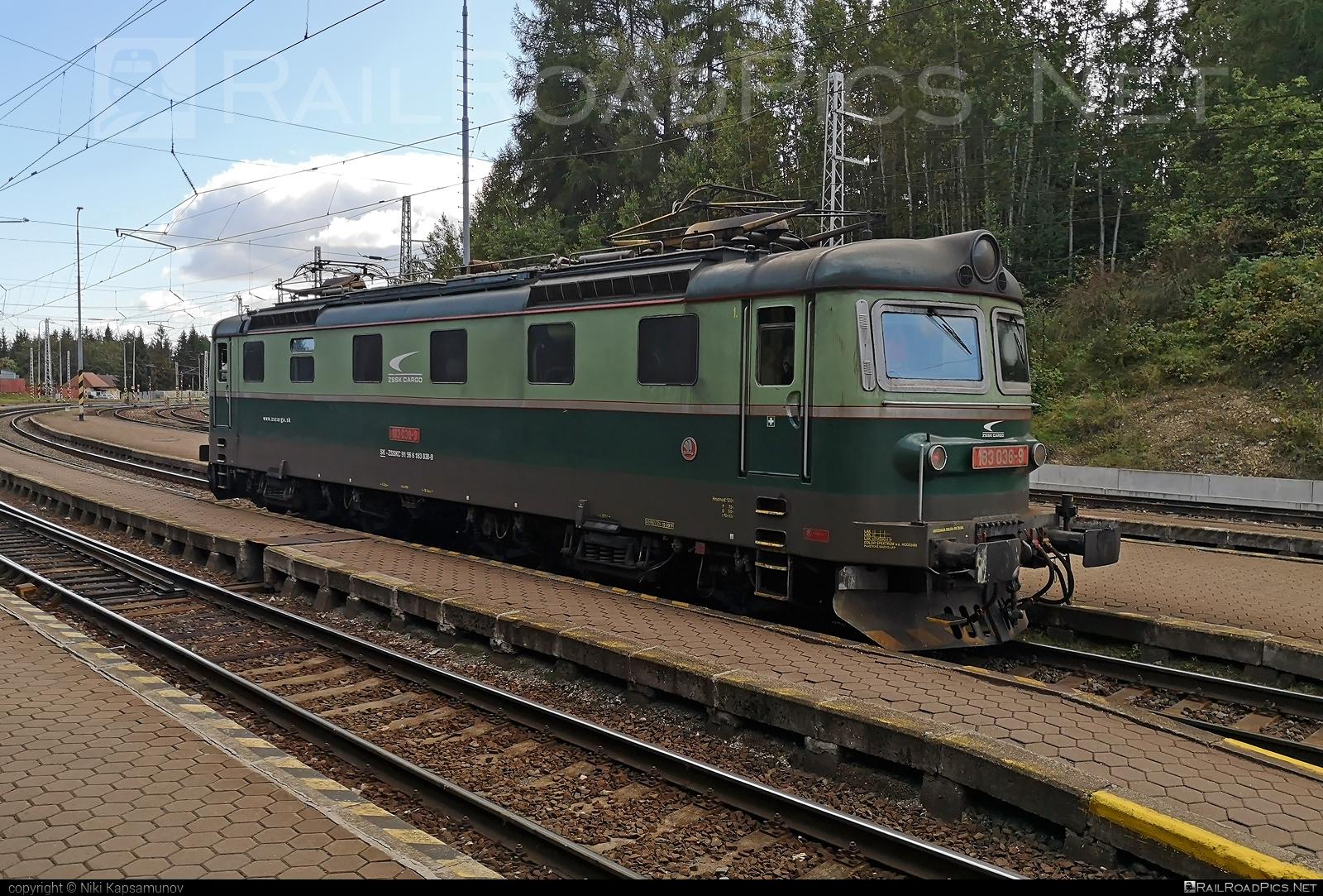Škoda 61E - 183 036-9 operated by Železničná Spoločnost' Cargo Slovakia a.s. #ZeleznicnaSpolocnostCargoSlovakia #locomotive183 #rakana #sestikolak #sestikolo #skoda #skoda61e #zsskcargo