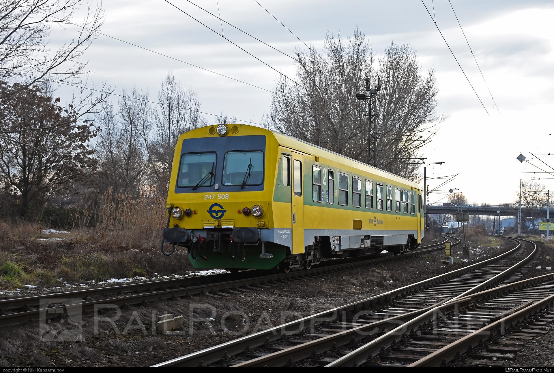 Jenbacher J3995 - 247 508 operated by GYSEV - Györ-Sopron-Ebenfurti Vasut Részvénytarsasag #gyorsopronebenfurtivasutreszvenytarsasag #gysev #jenbacher #jenbacherj3995