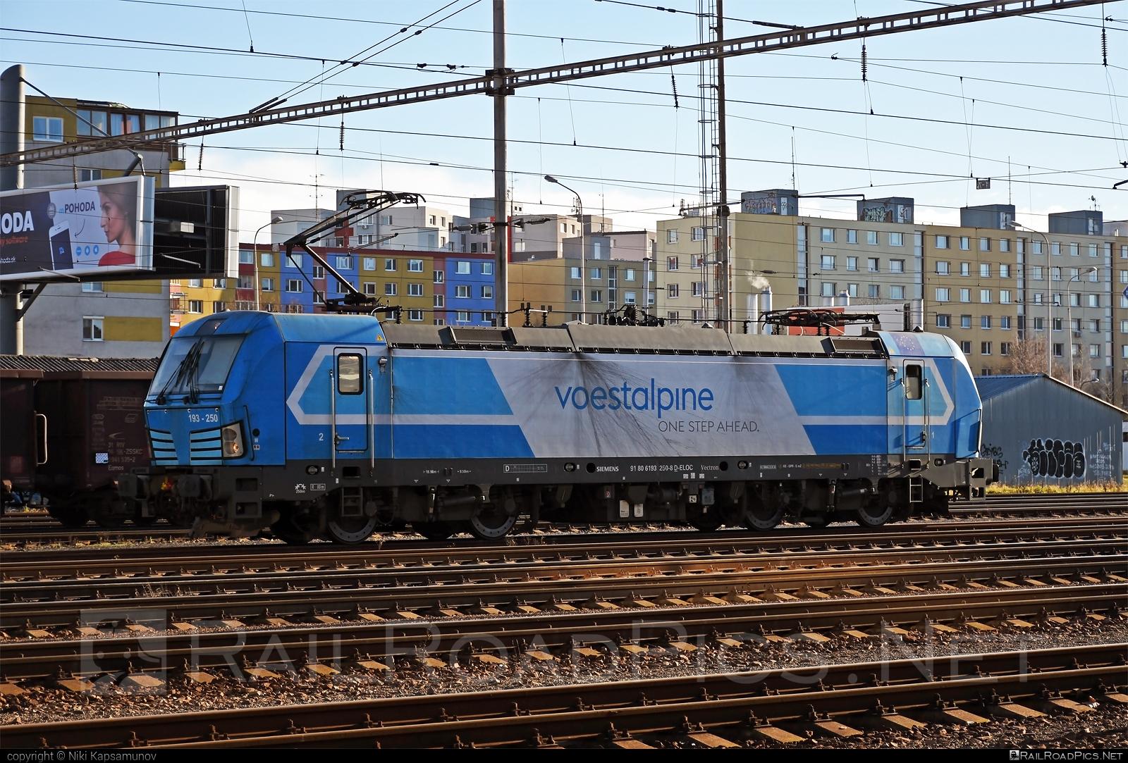 Siemens Vectron AC - 193 250 operated by Voestalpine BWG #ell #ellgermany #eloc #europeanlocomotiveleasing #siemens #siemensvectron #siemensvectronac #vectron #vectronac #voestalpine